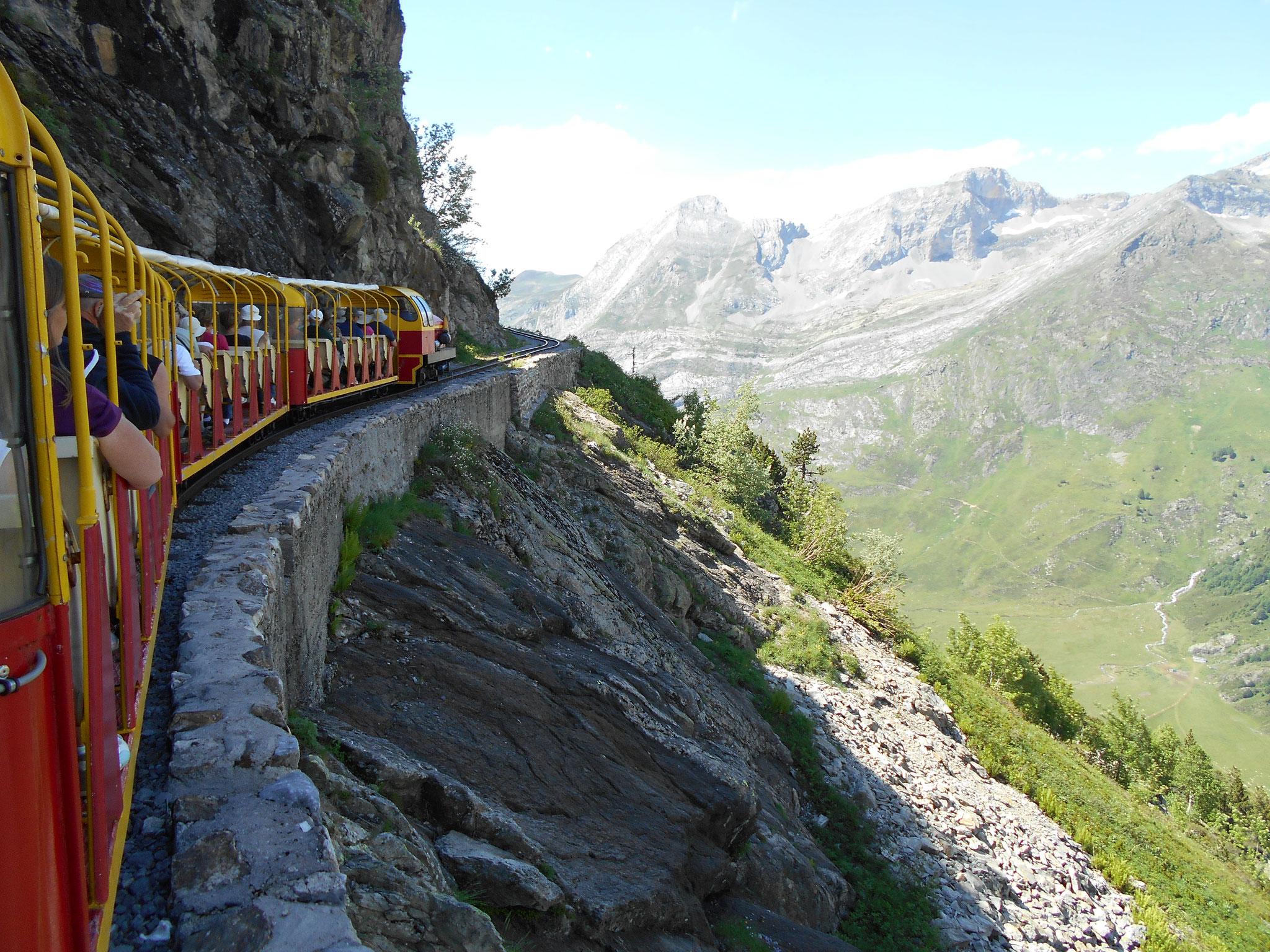 Faire confiance au conducteur du petit train !