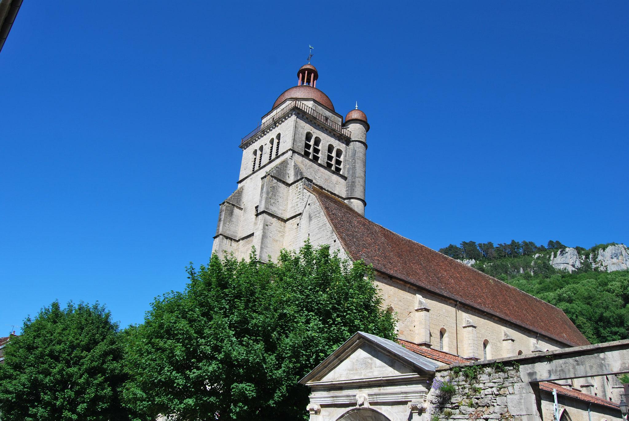Poligny -  La collégiale Saint-Hippolyte