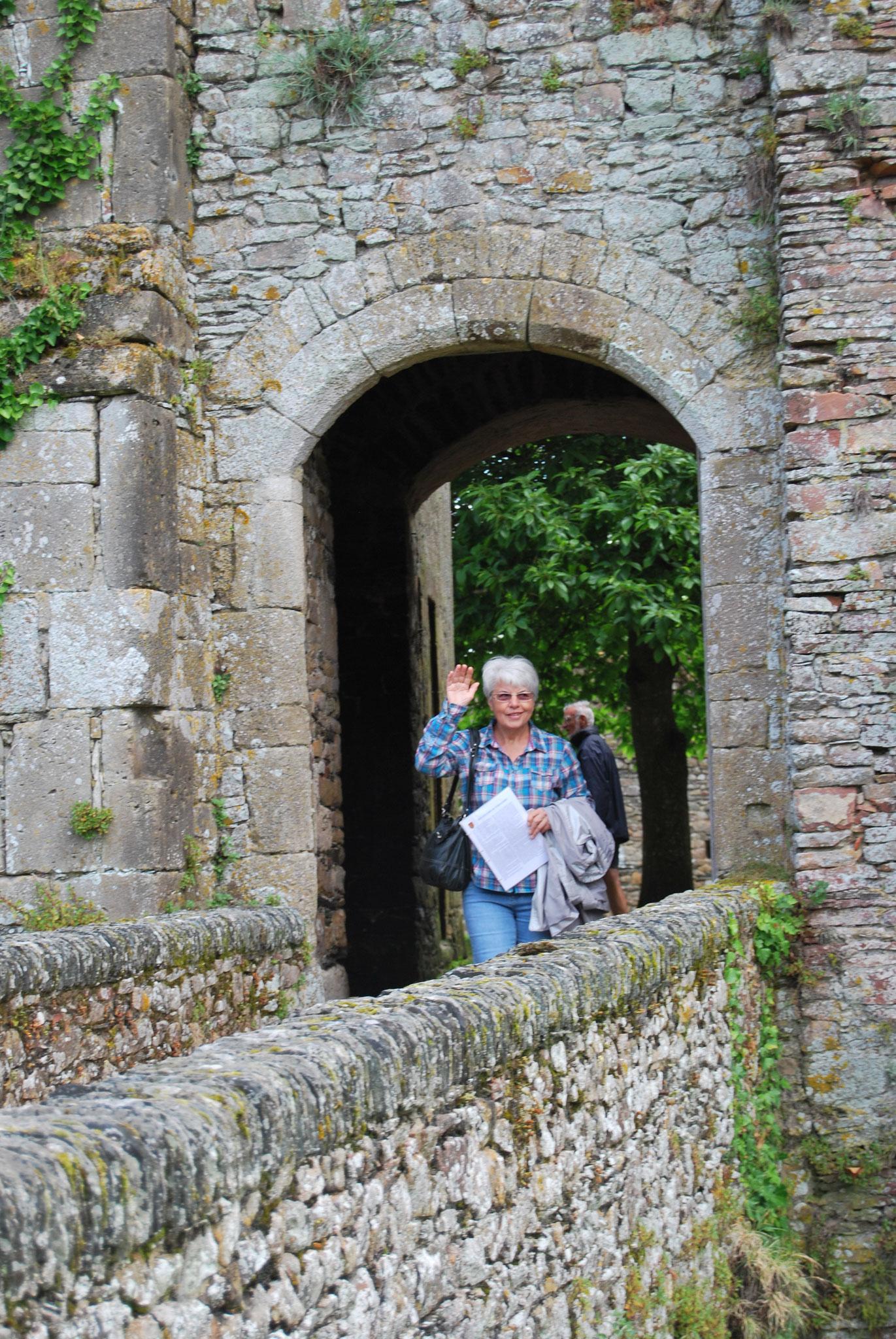 Au château de Pirou