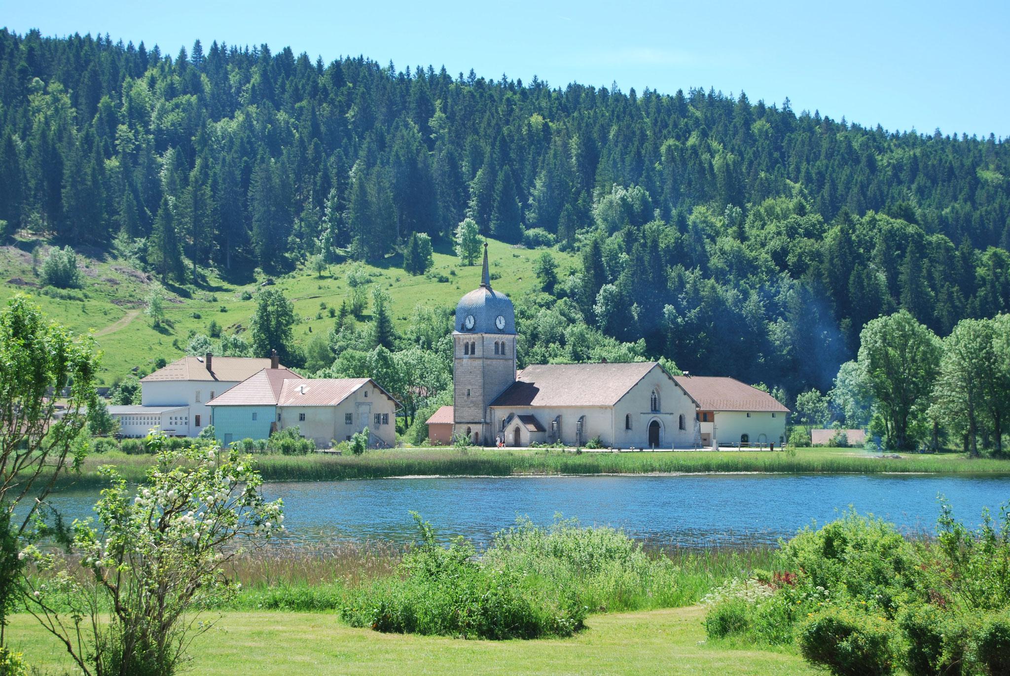 Lac de l'abbaye de Grande Rivière