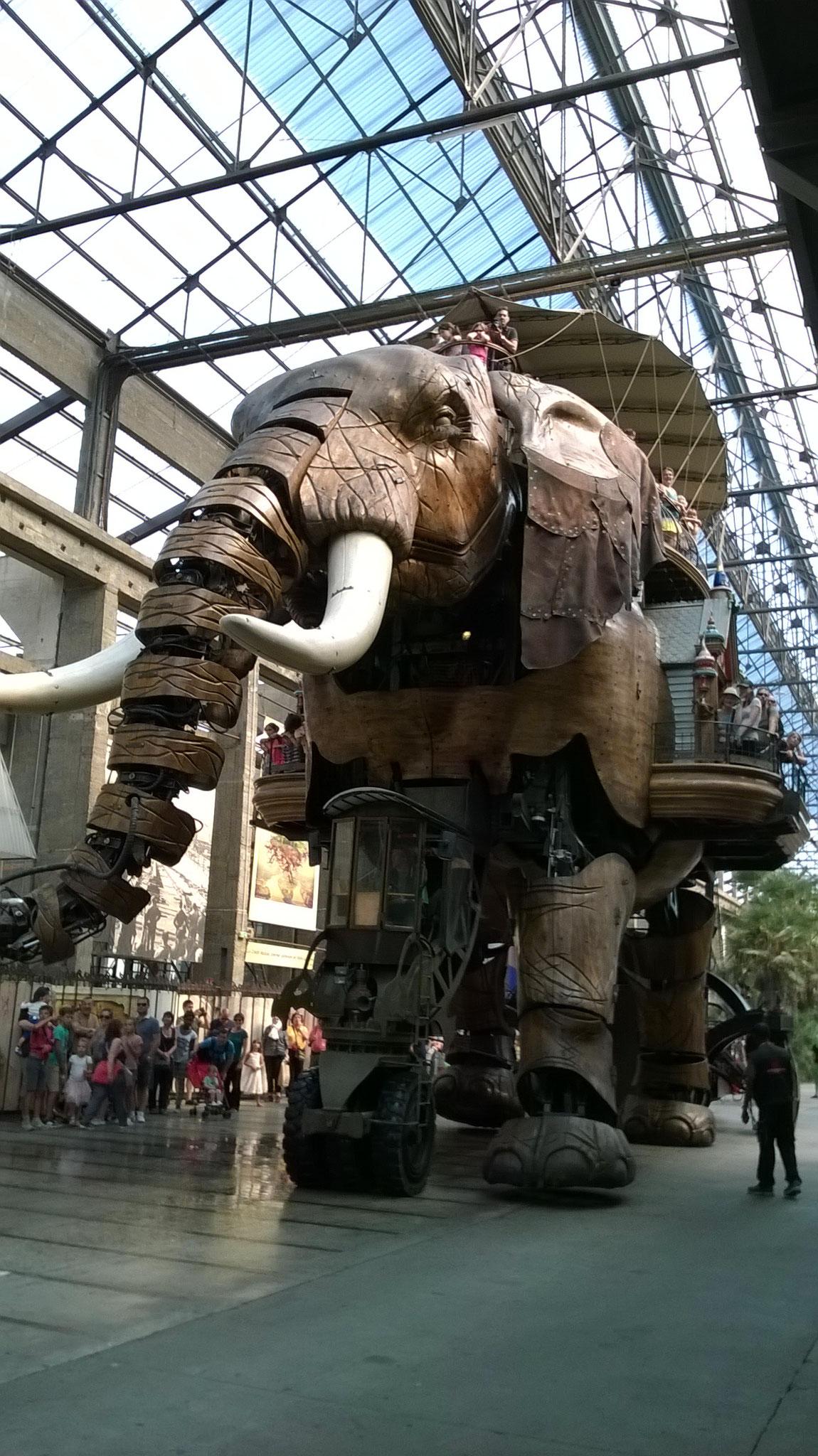 « Les Machines de l'île » à Nantes