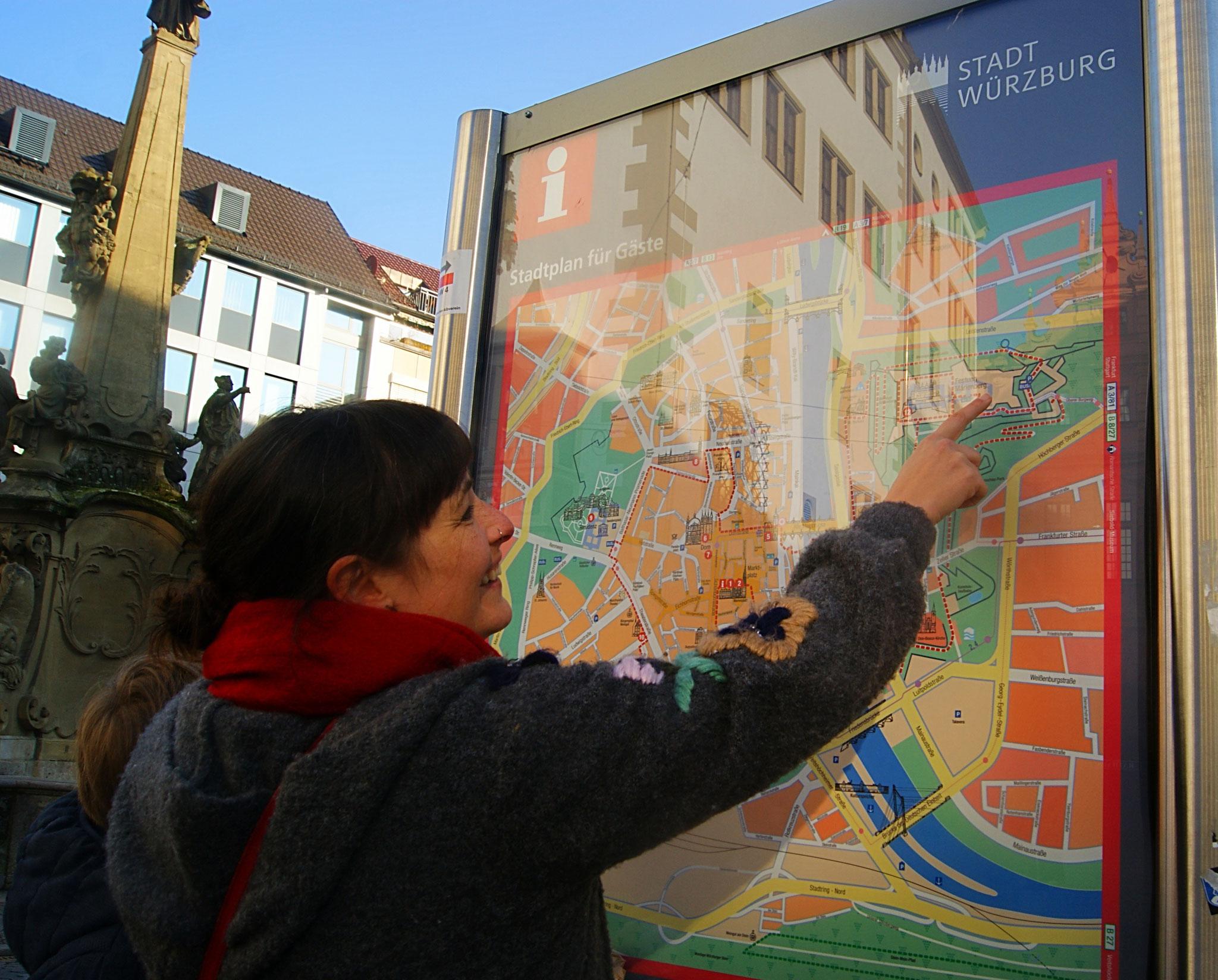 In Würzburgs Innenstadt