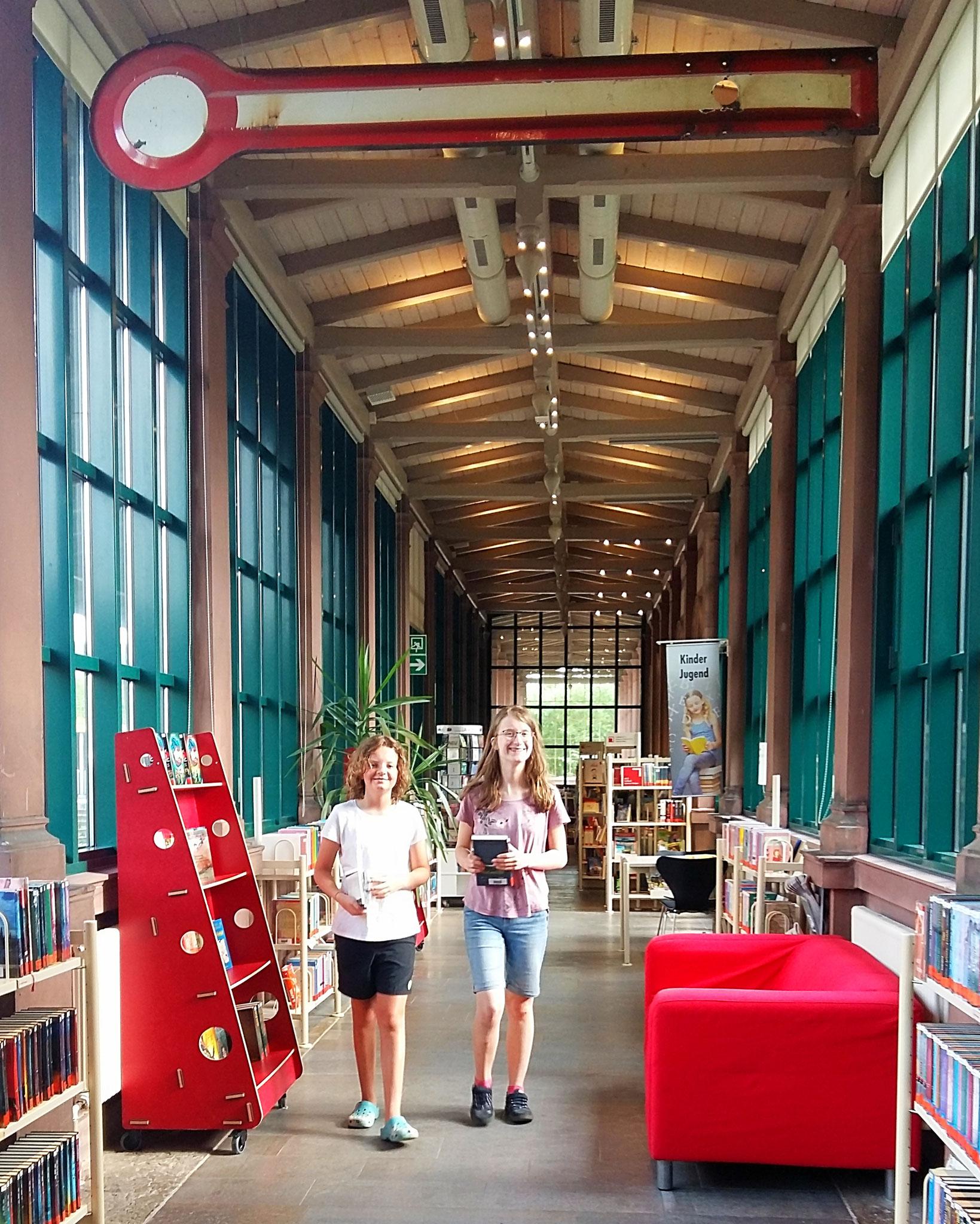 Bücherei im Bahnhof, Veitshöchheim