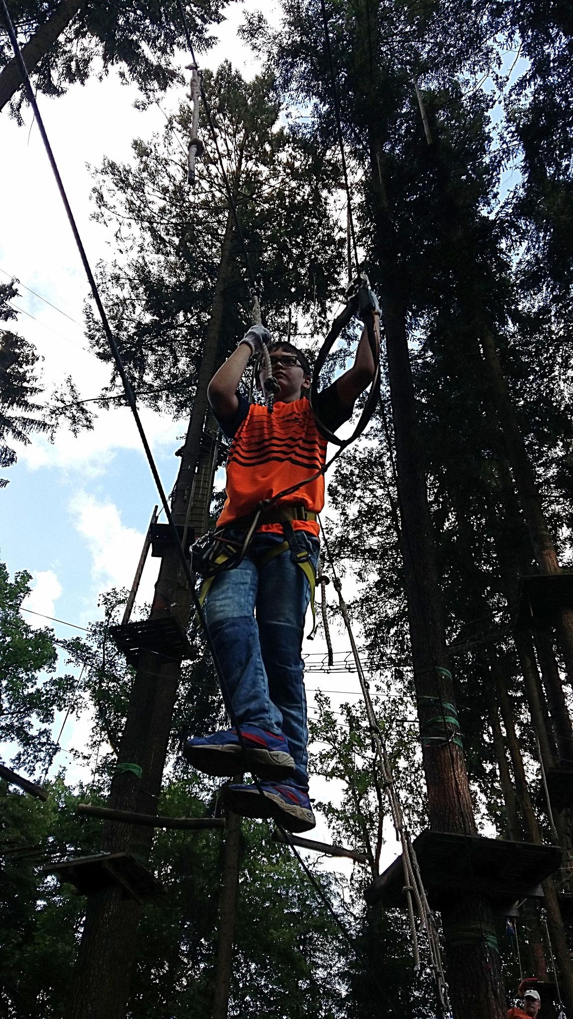 Kletterwald Einsiedel im Gramschatzer Wald