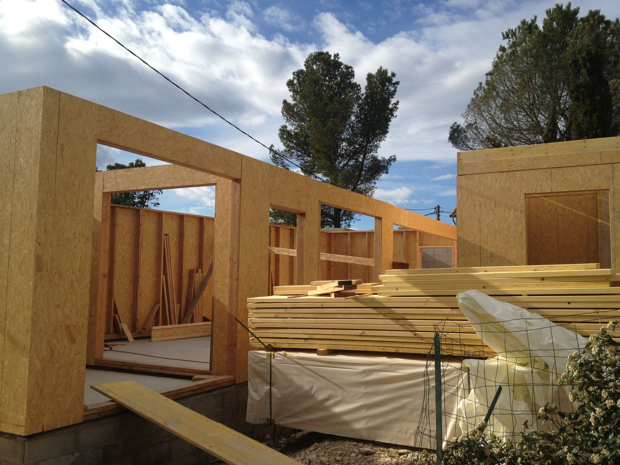 Maison ossature bois MOB