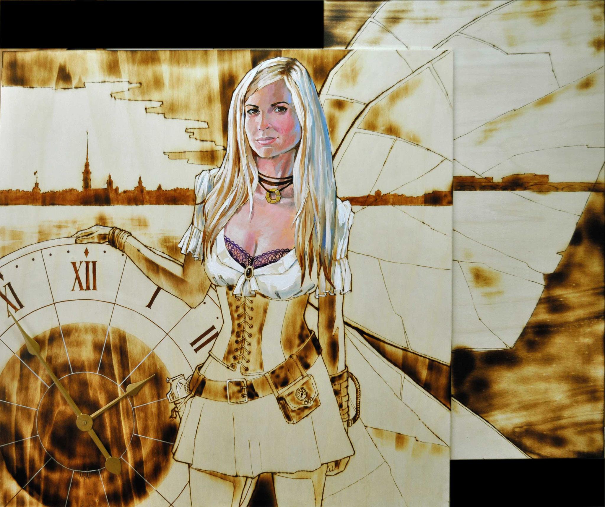 SteampunkRevolution (100x120 cm)