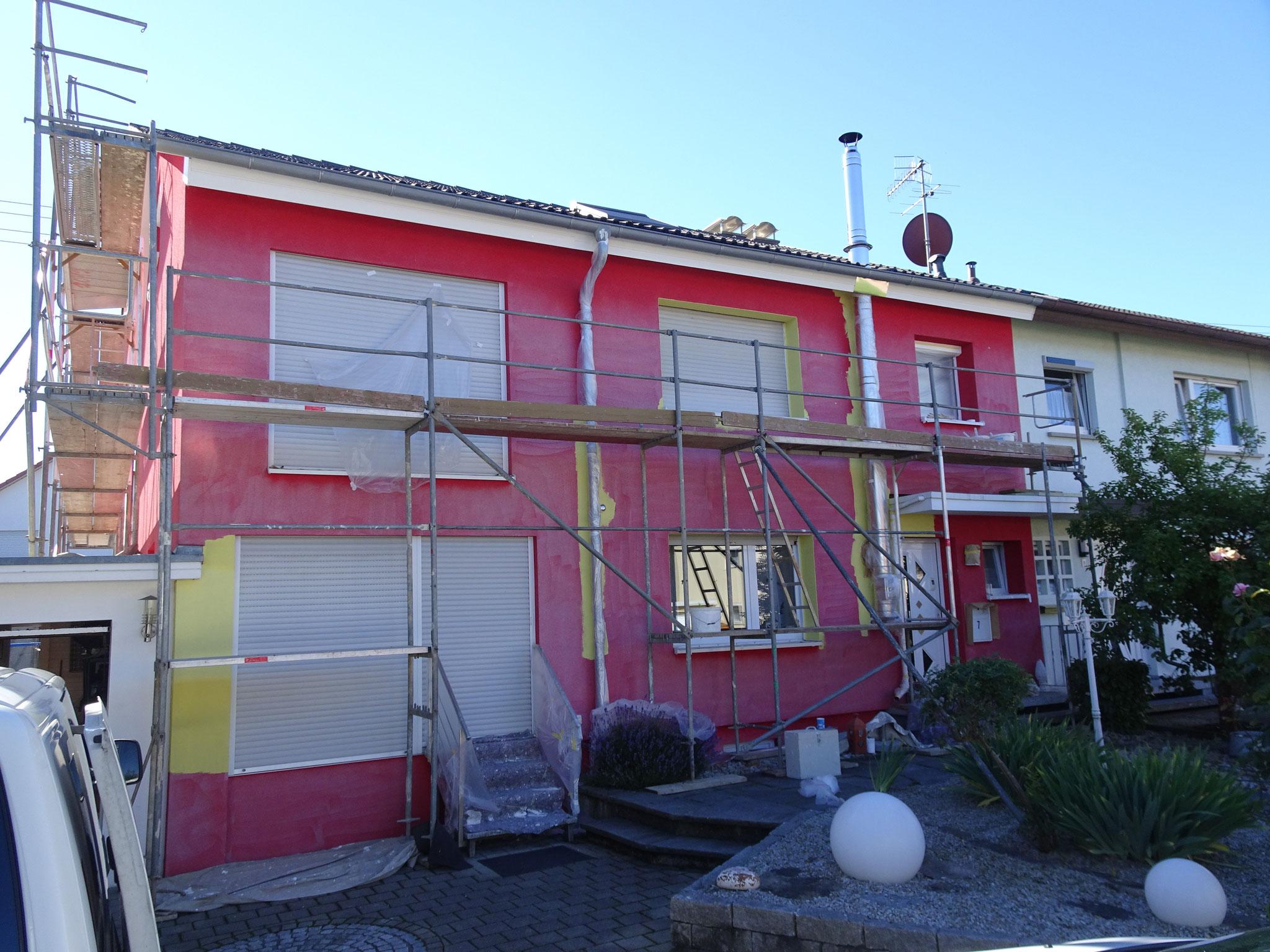 Wohnhaus Eimeldingen vorher