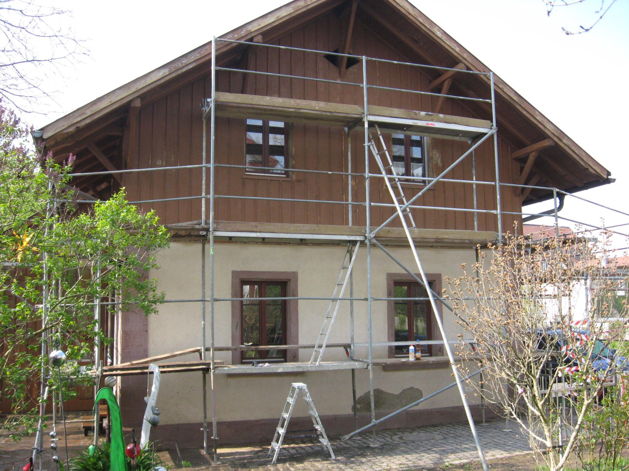 Wohnhaus Lörrach vorher