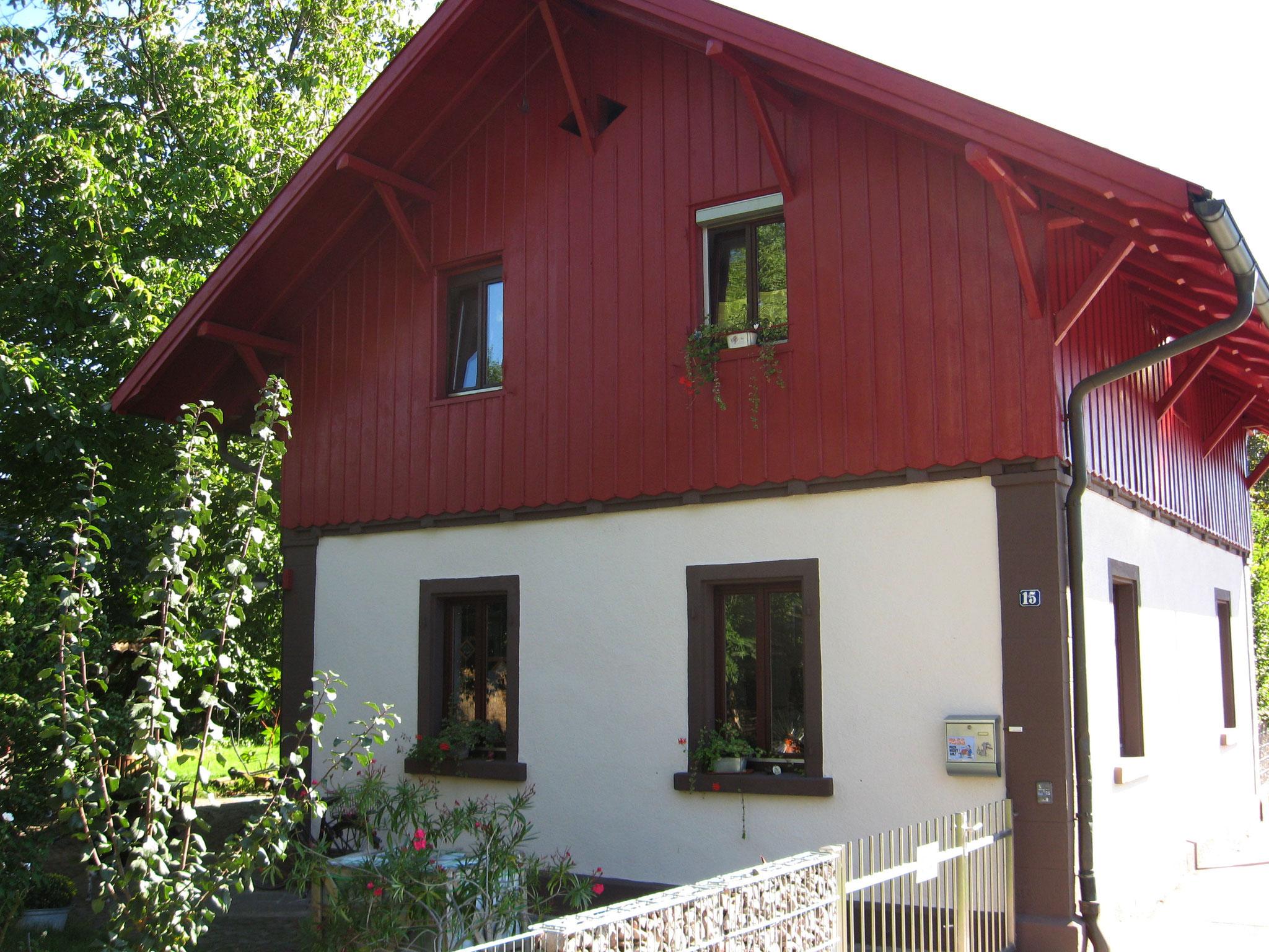 Wohnhaus Lörrach nachher