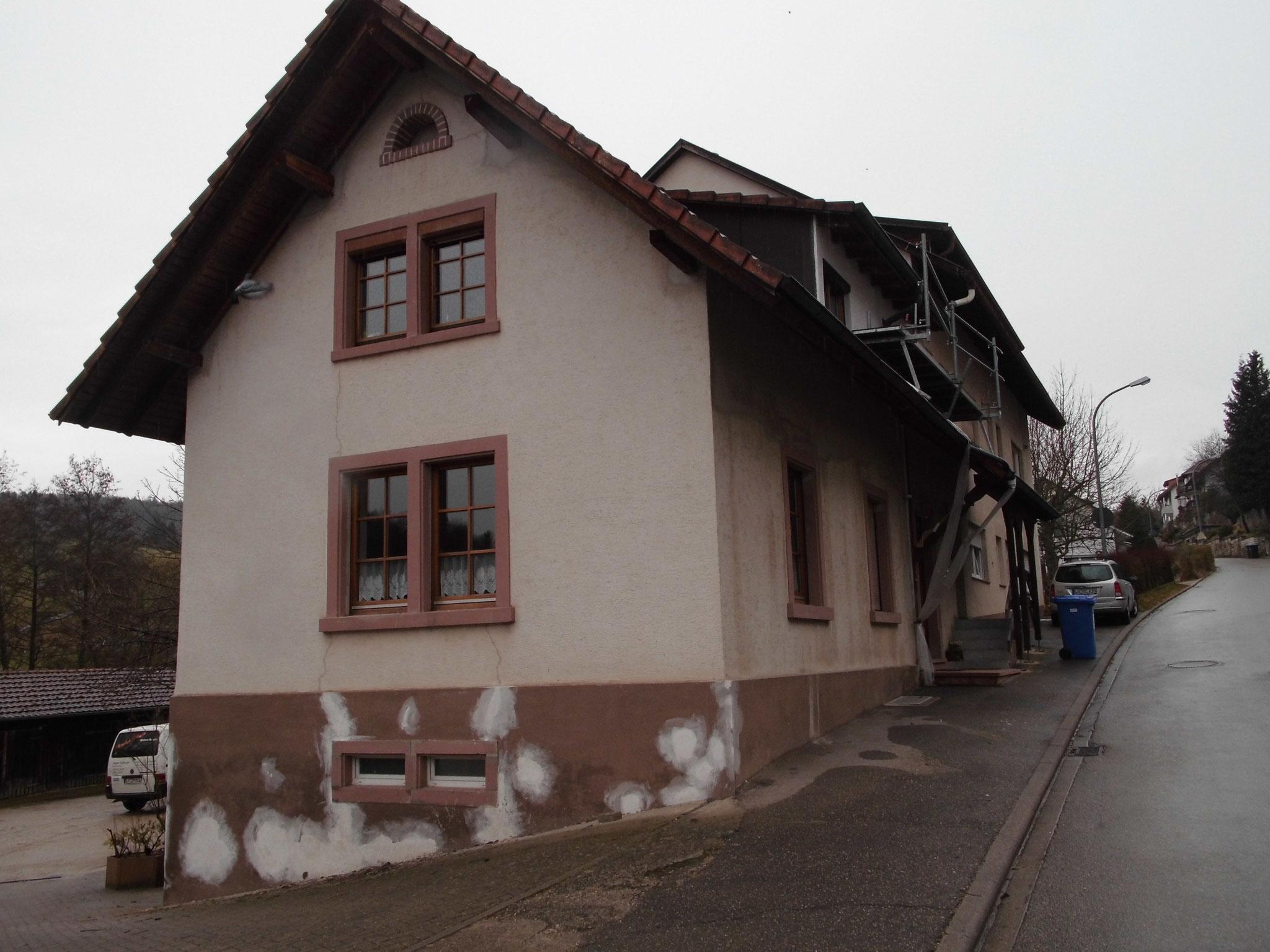 Wohnhaus Hauingen vorher