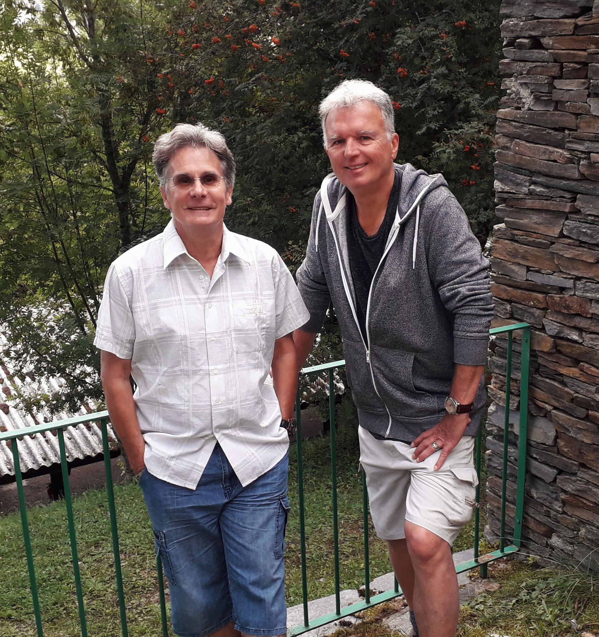 Robert et Alain, 2 amoureux de la Lozère