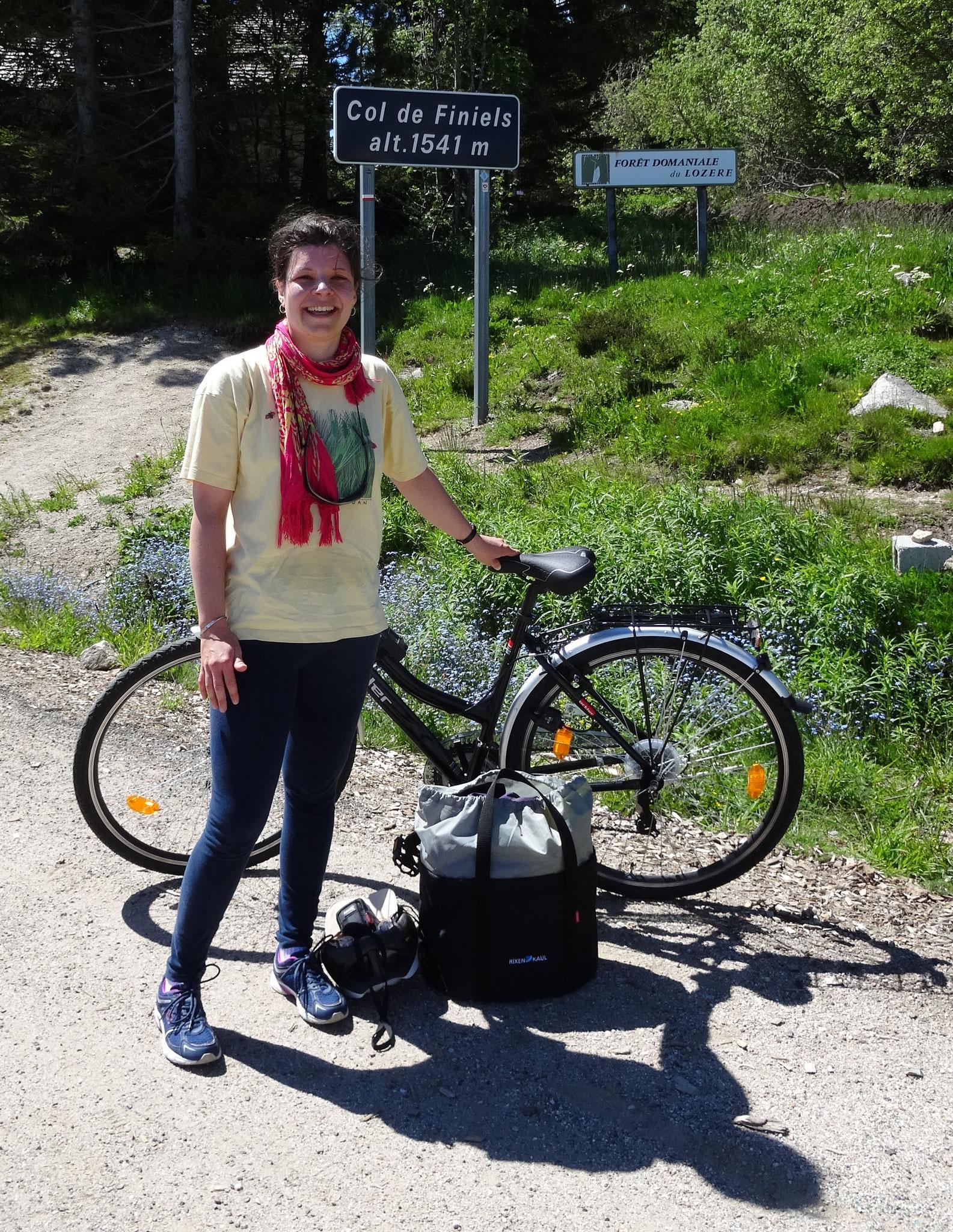 Anne-Lise a réussi son ascension du Mont Lozère! Bravo !