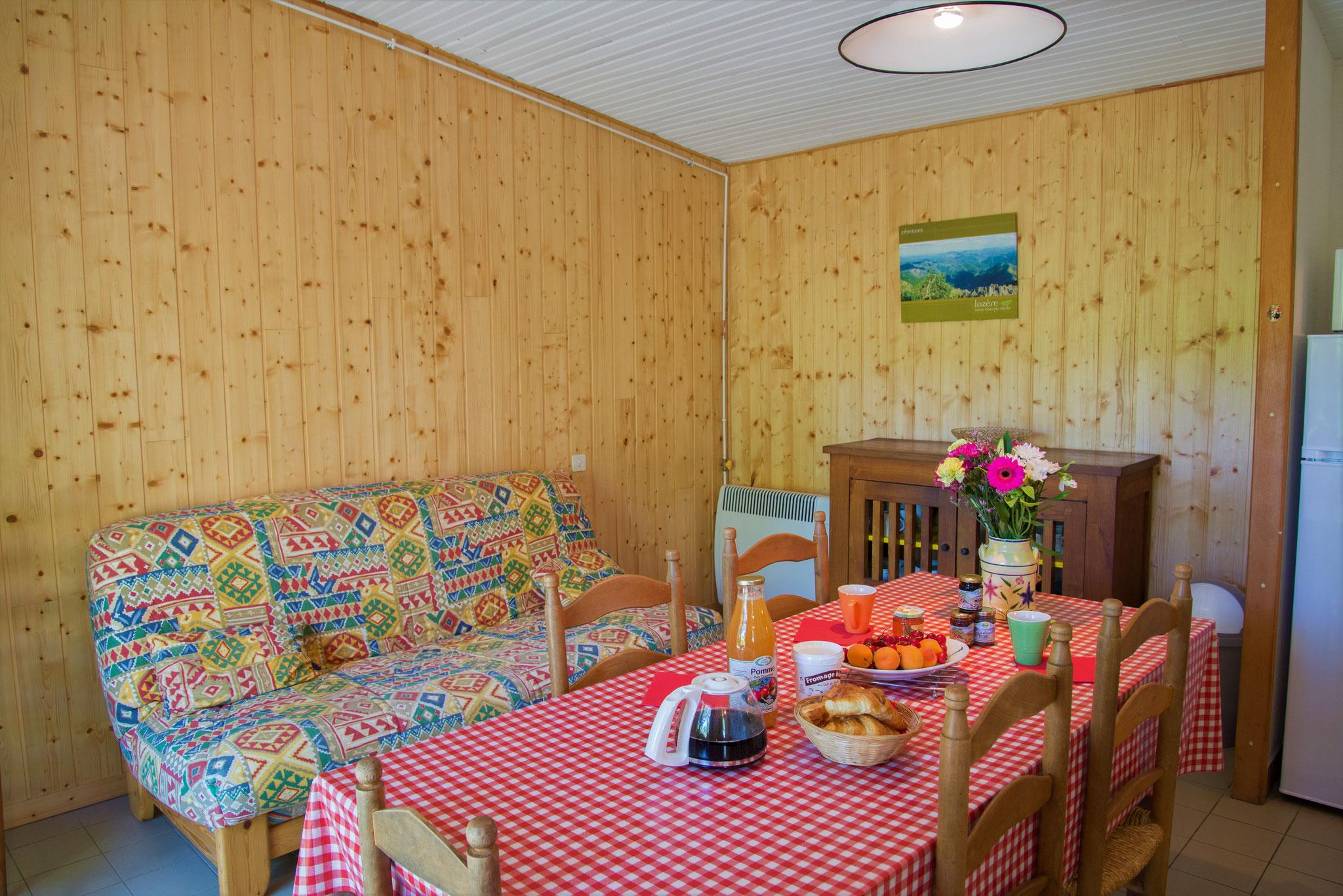 La salle à manger/séjour