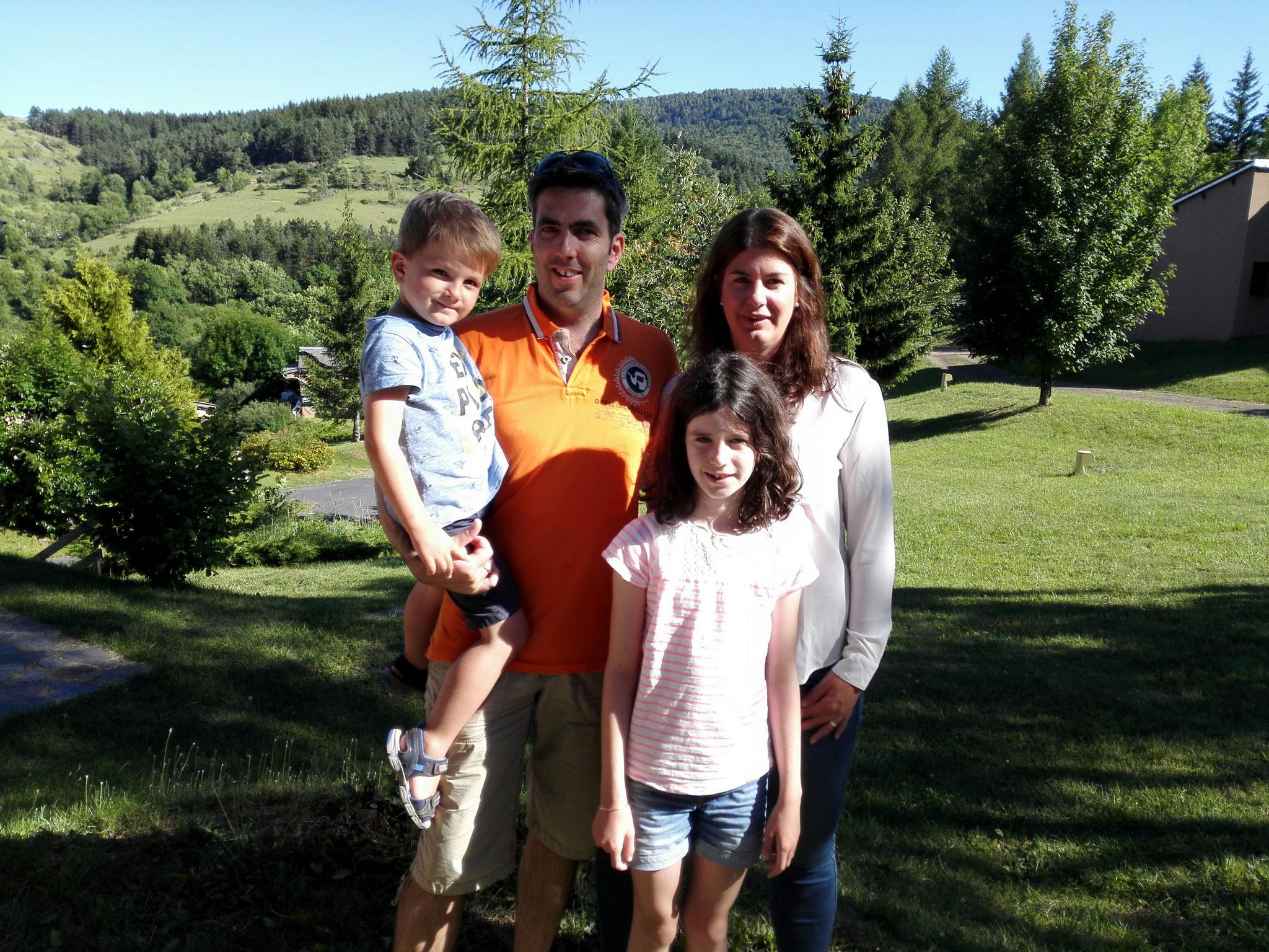 Arno, Christophe, Carla et Sylvie