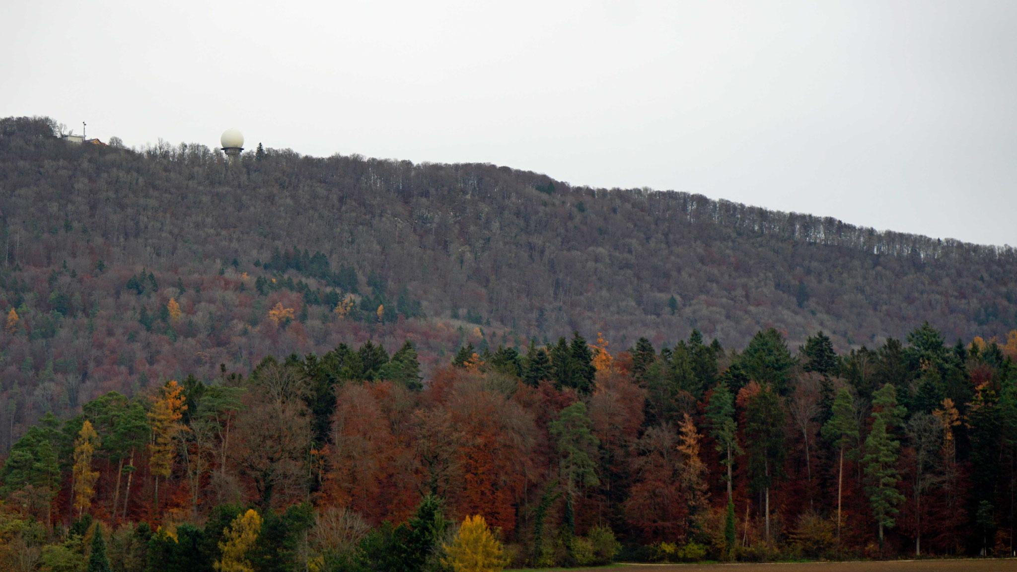 23.11.2019_Sicht vom Kirchturm Otelfingen zur Hochwacht