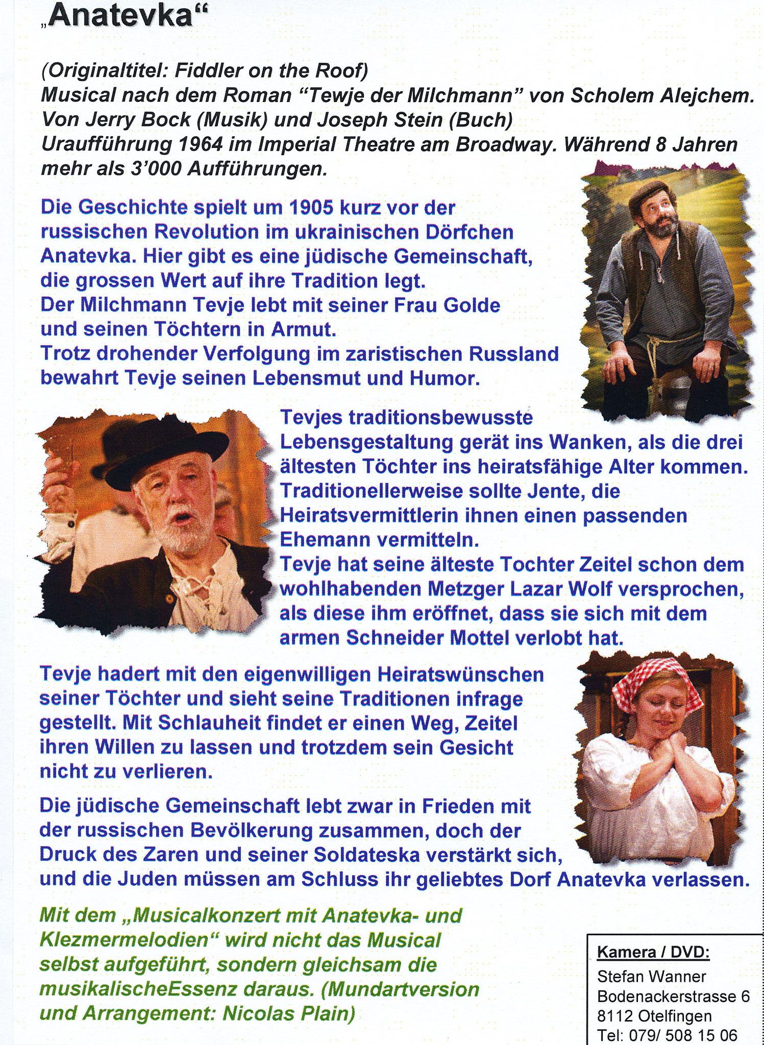 Umschlagseite der DVD Hülle