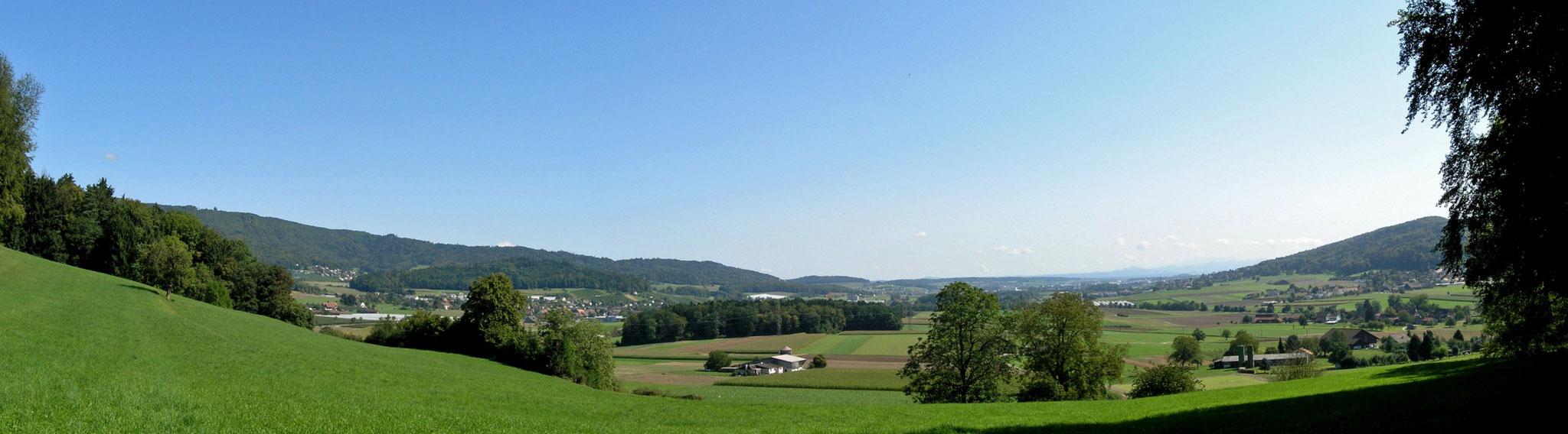 6.9.2009::Blick von Westen ins Furttal