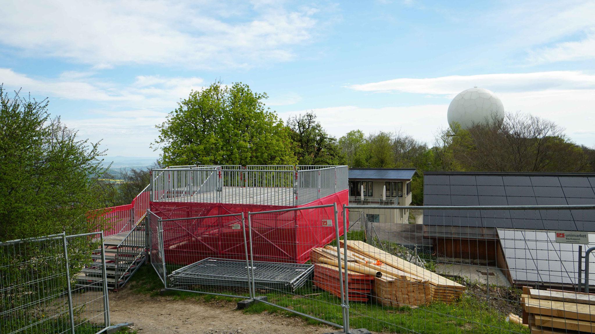 10.5.2021::Ersatz-Aussichtsplattform