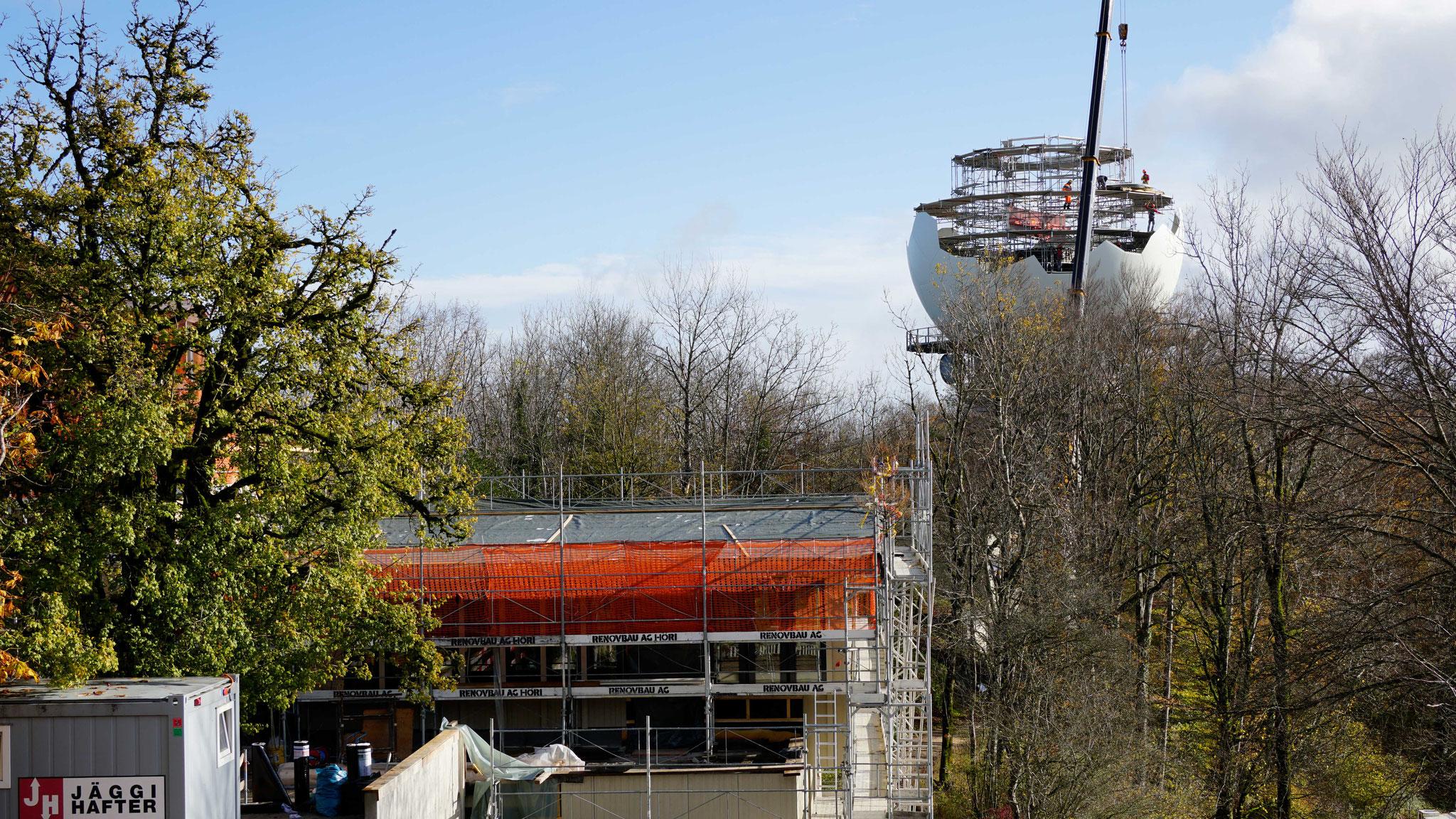5.11.2019::Restaurant&Radom im Bau