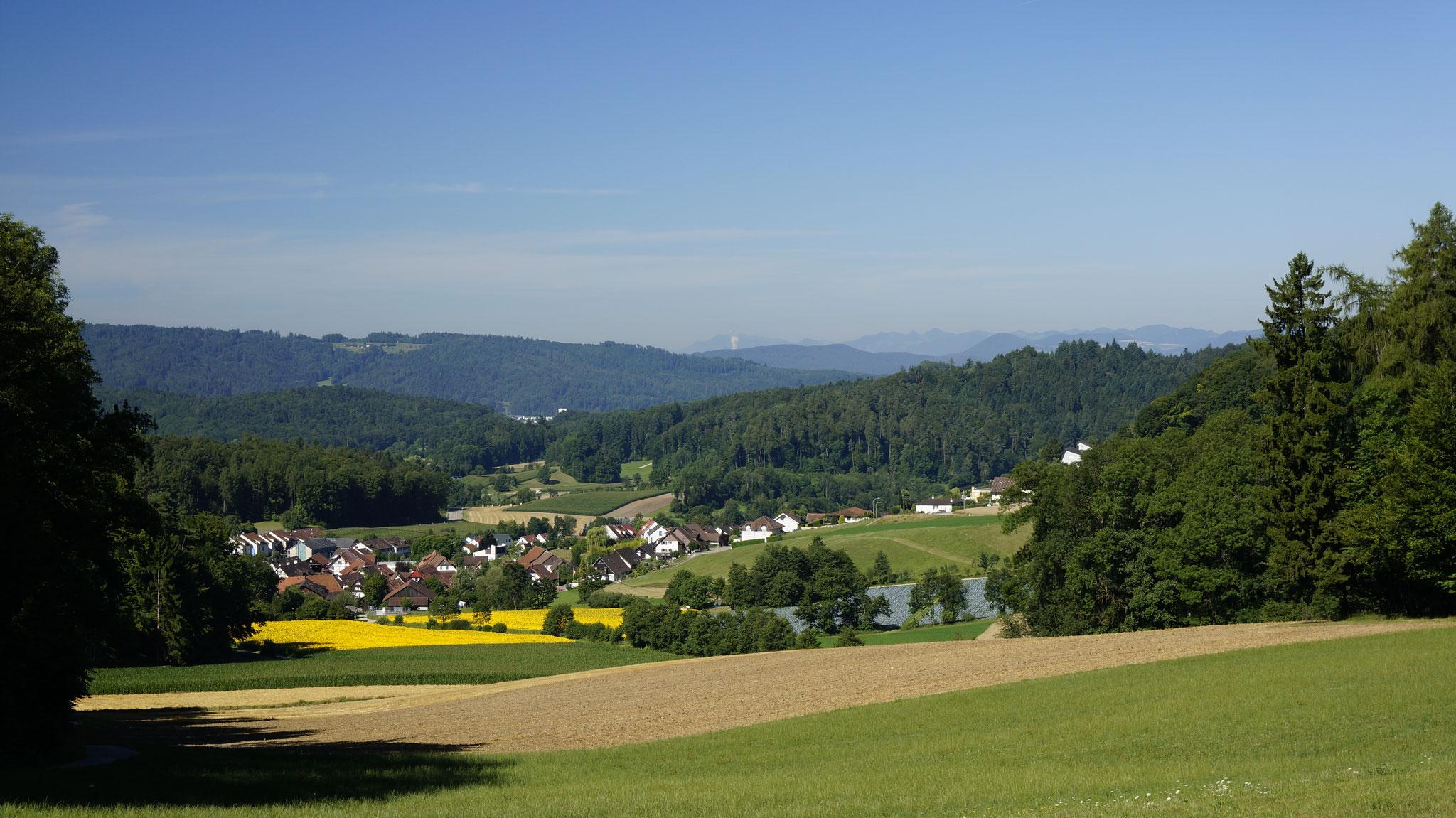 17.7.17::Dorf von der Grimmrüti aus