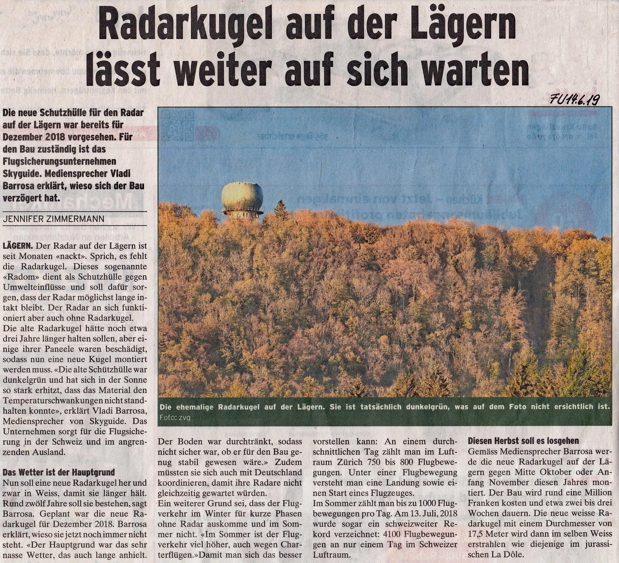 AKTUELL im Furttaler 14.6.2019::Das Warten geht weiter...