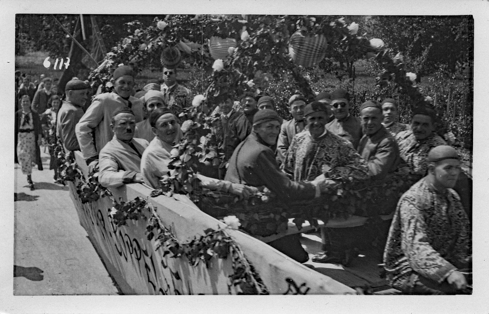 Chineschische Dschunke::«Chinesenmarsch» als Hit::1938