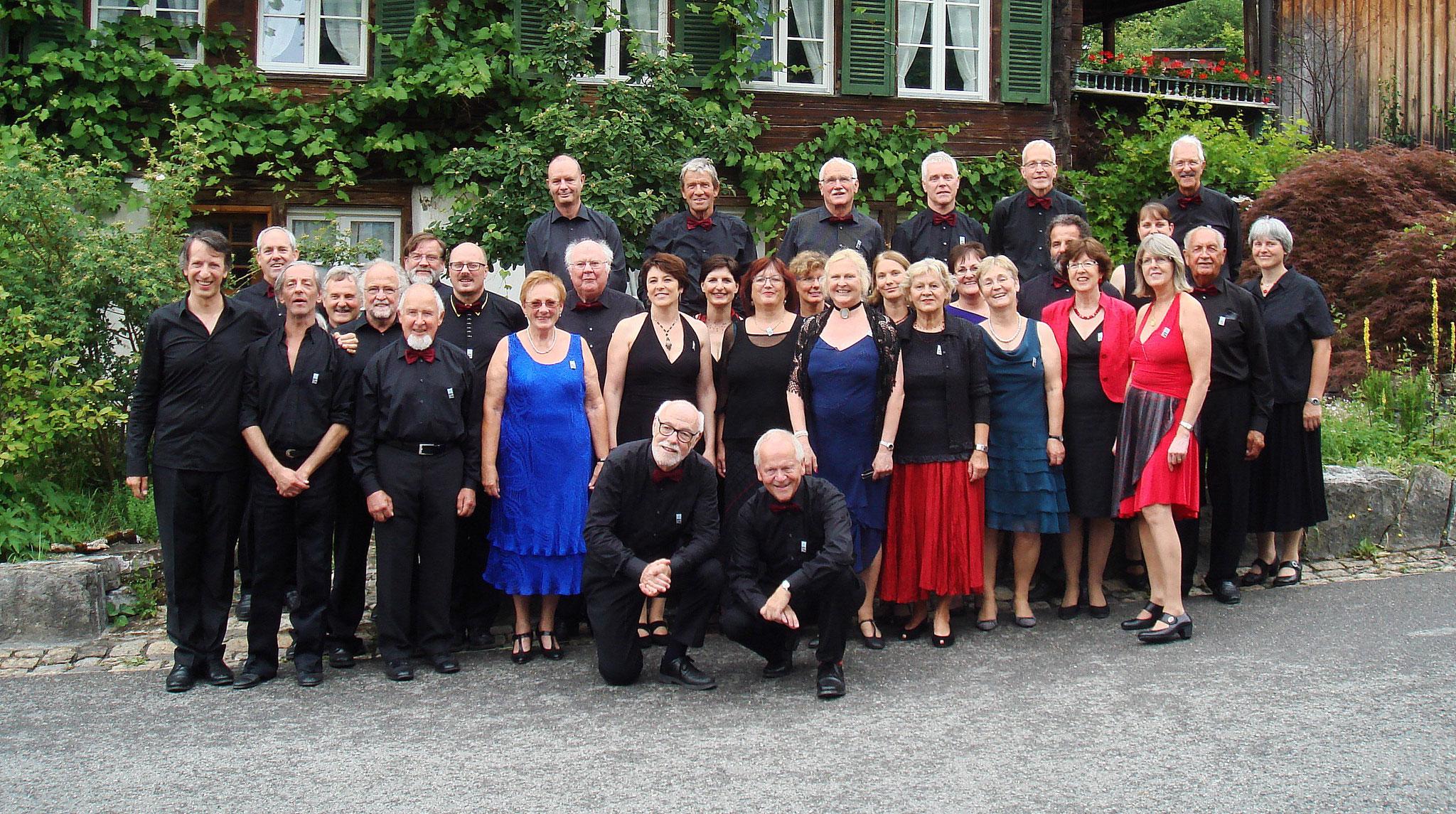 Teilnahme am Schweiz. Gesangfest Meiringen als Tango Projektchor::Mai 2015