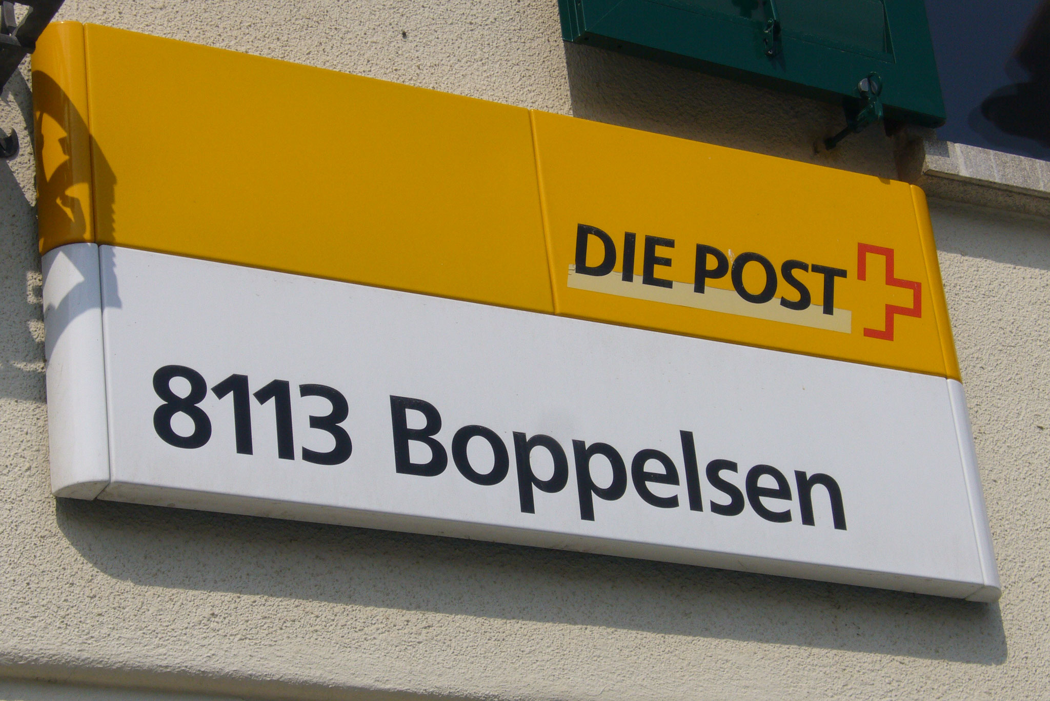 DIE POST gestern, April 2008