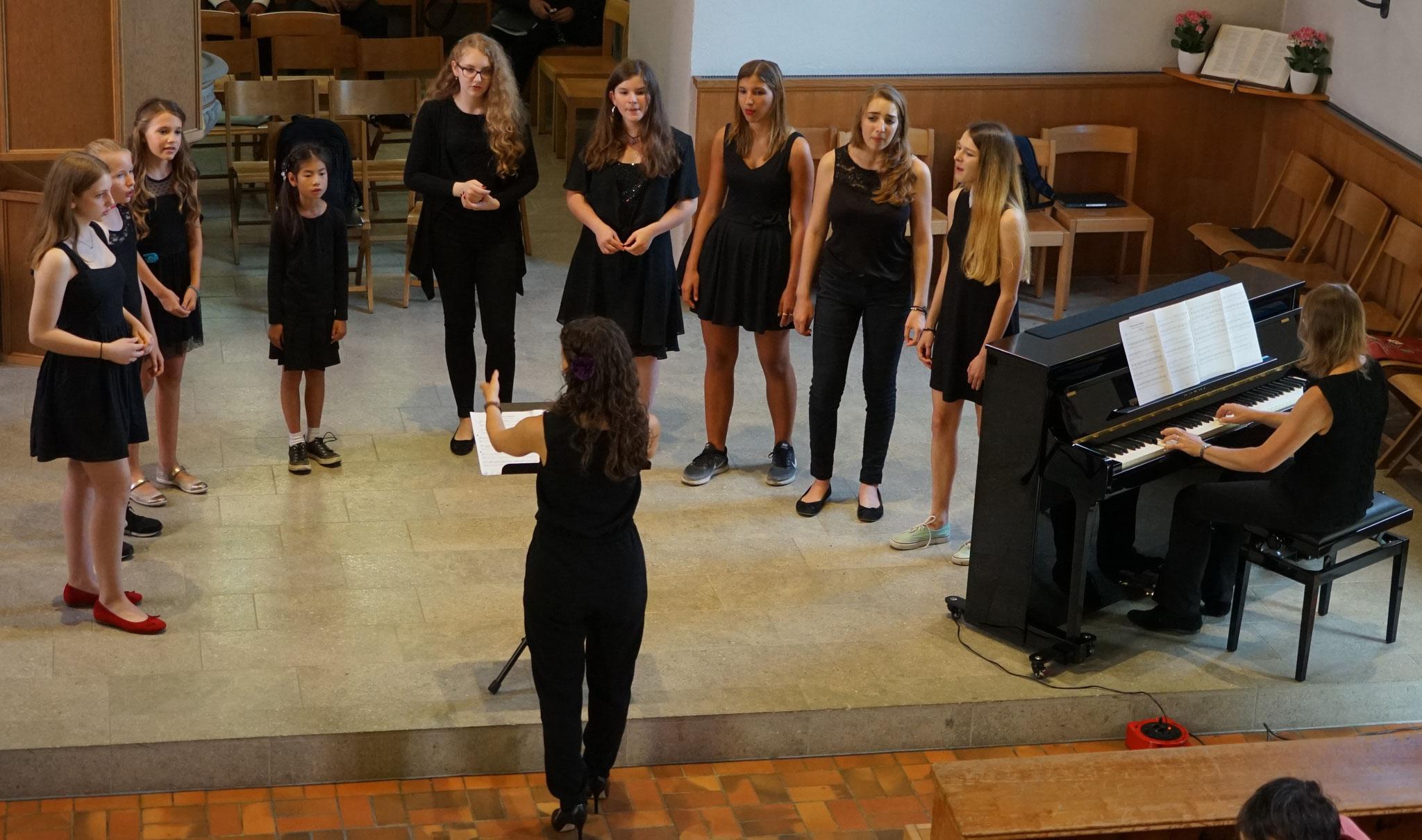 Chor der Musikschule Unteres Furttal::Foto: Rolf Wildi