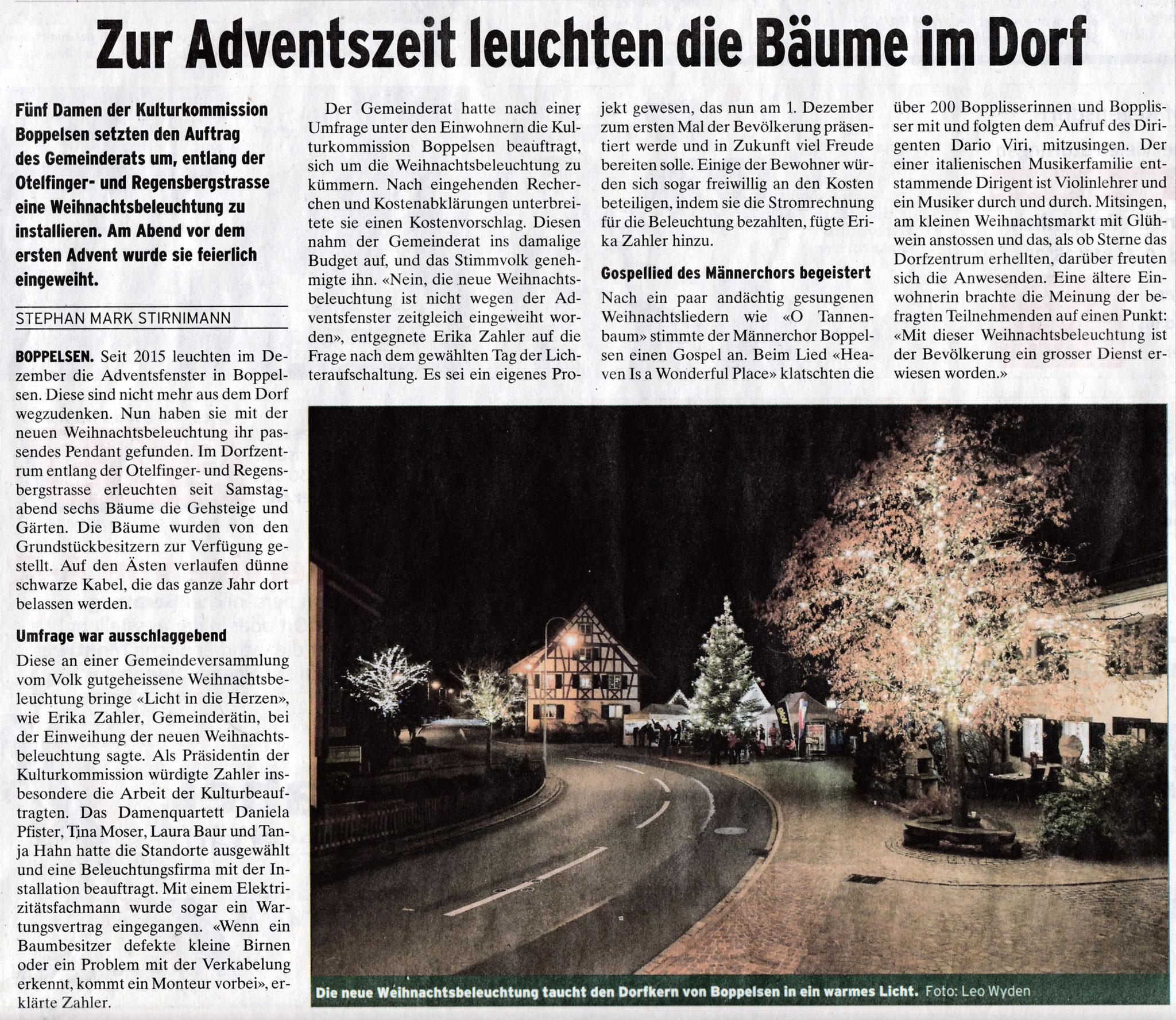 Dorfplatz am 1. Advent::1.12.2018