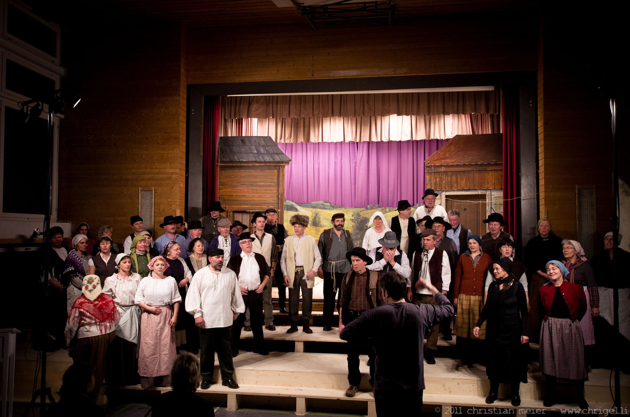 Projektchor für das Musical «ANATEVKA»::2011