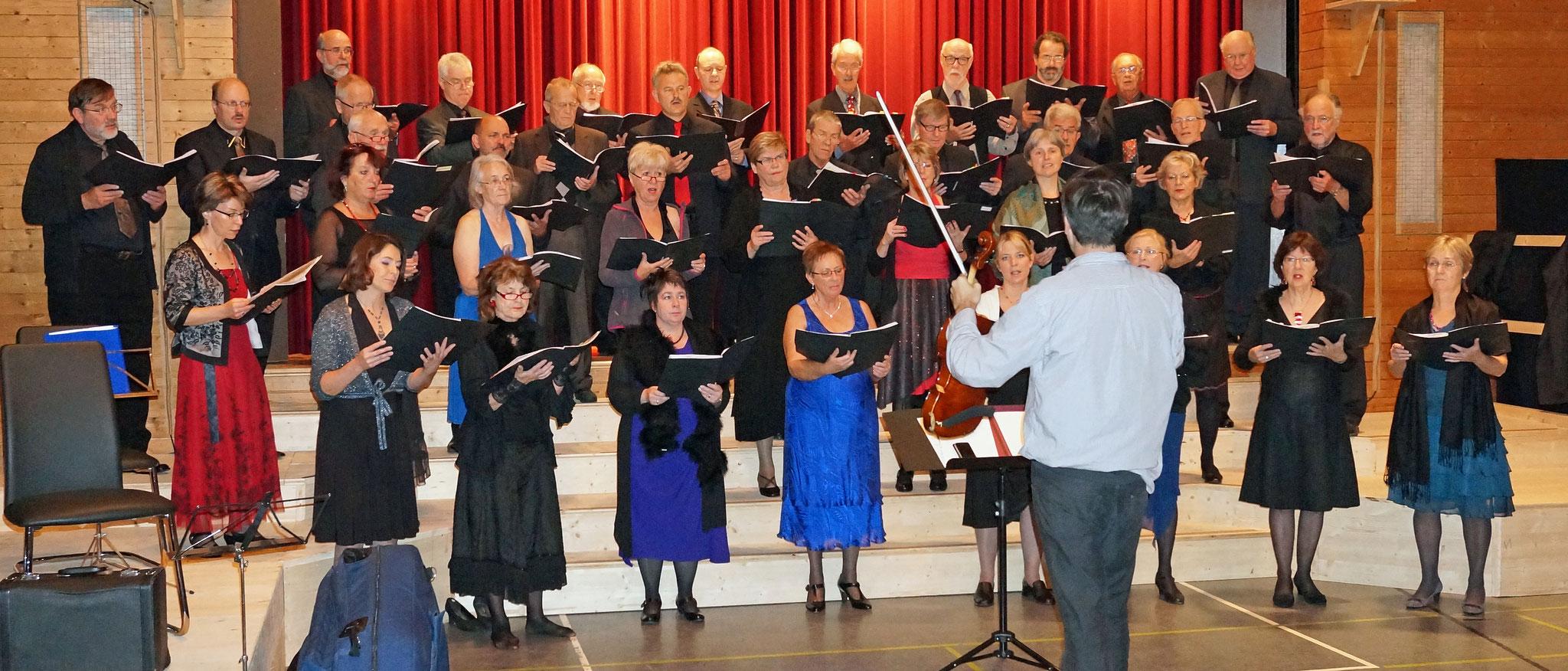 2013::Projektchor für «MILONGA» mit Tangomelodien