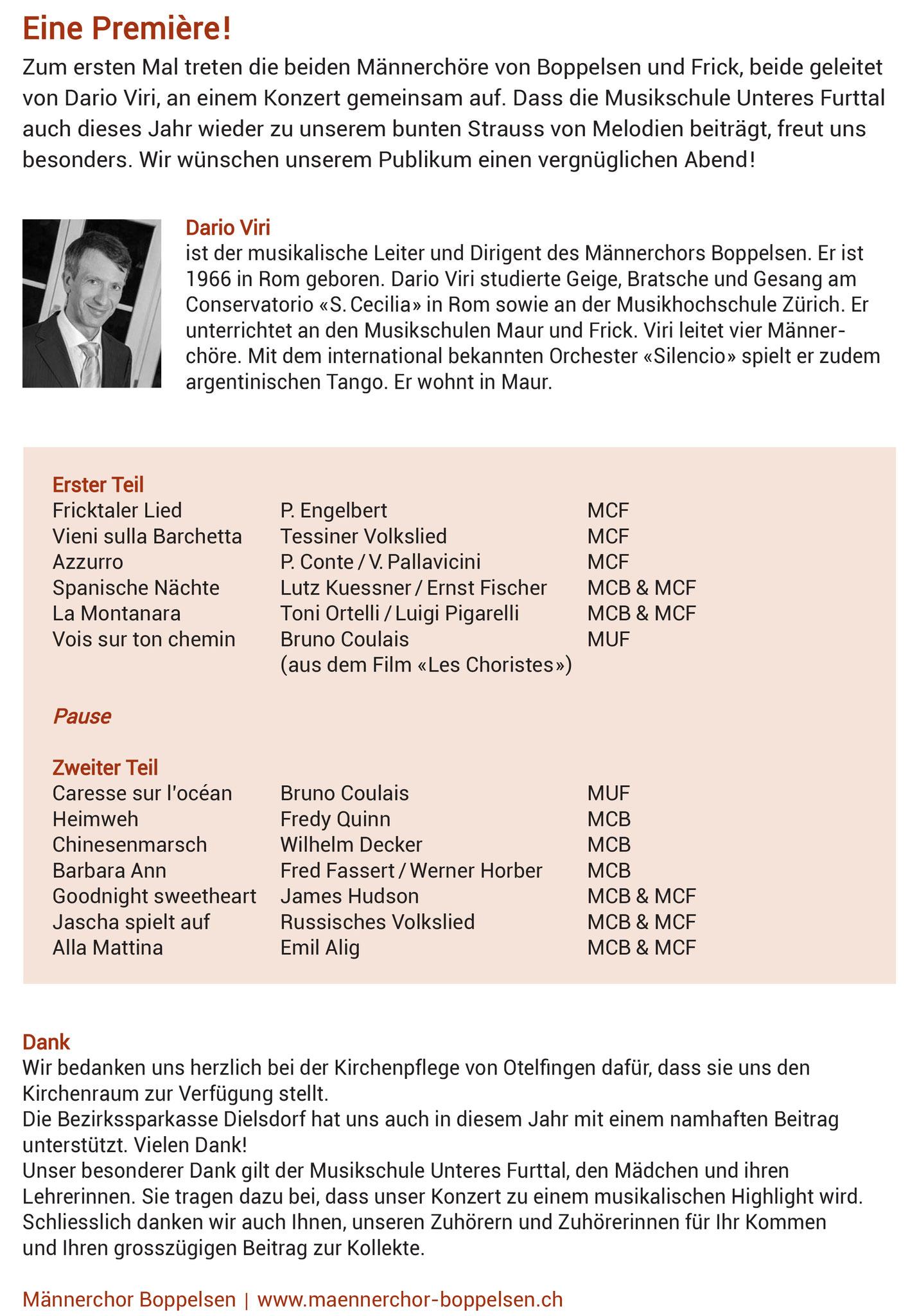 Flyer: Othmar Eigenmann, Otelfingen