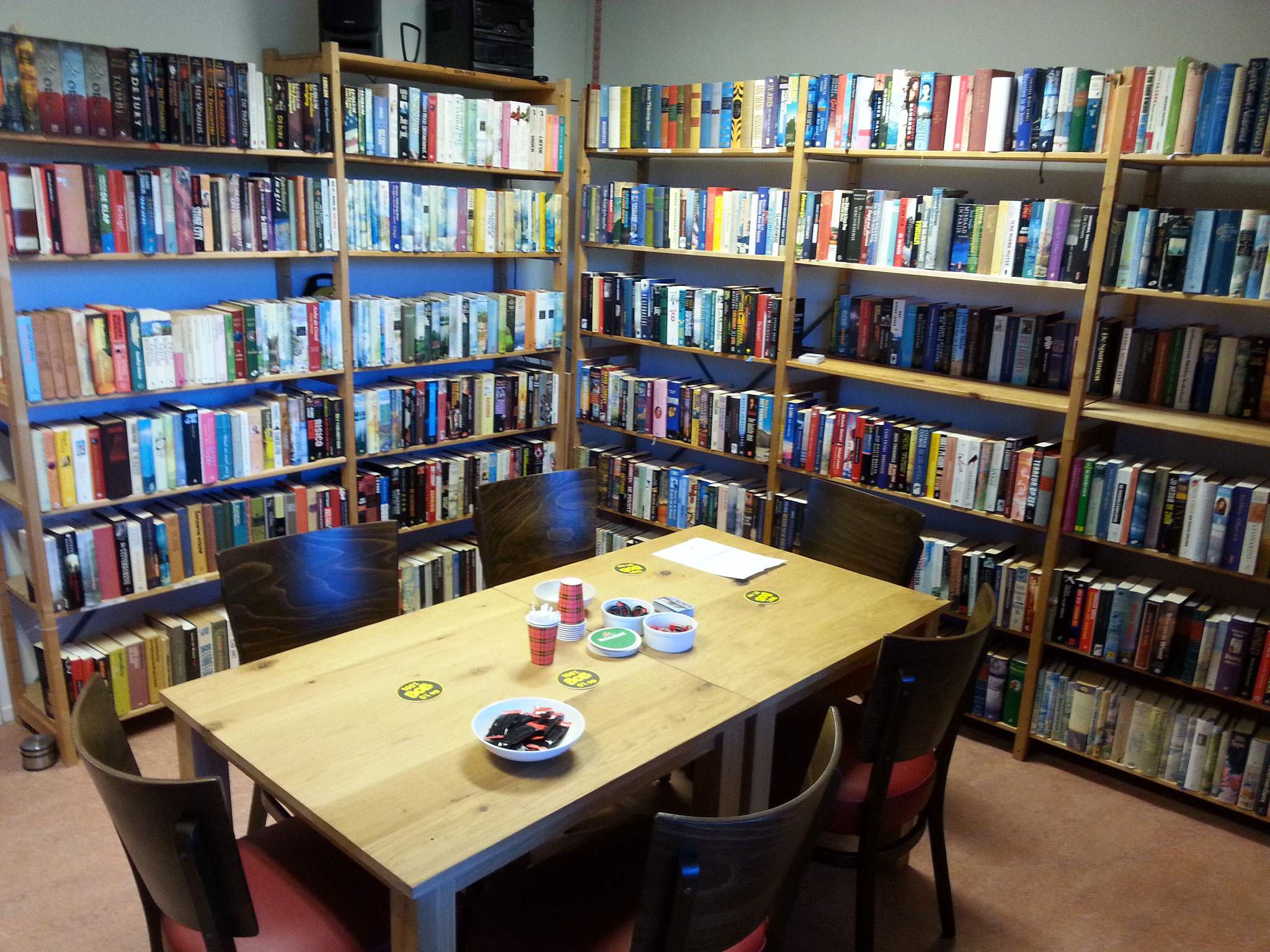 Bibliotheek - 16 m2 (max 6 personen)
