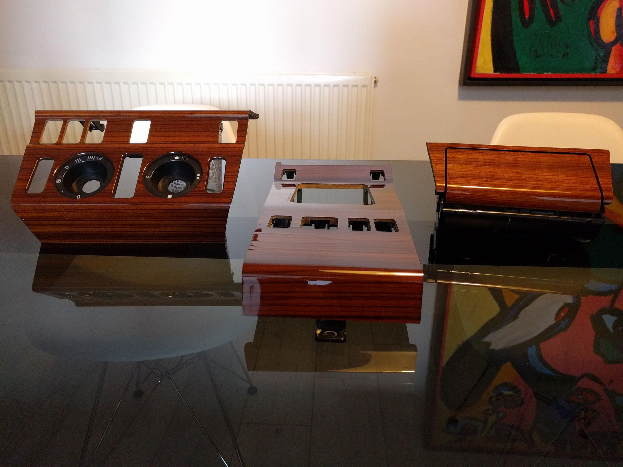 Edelholz lackiert W124