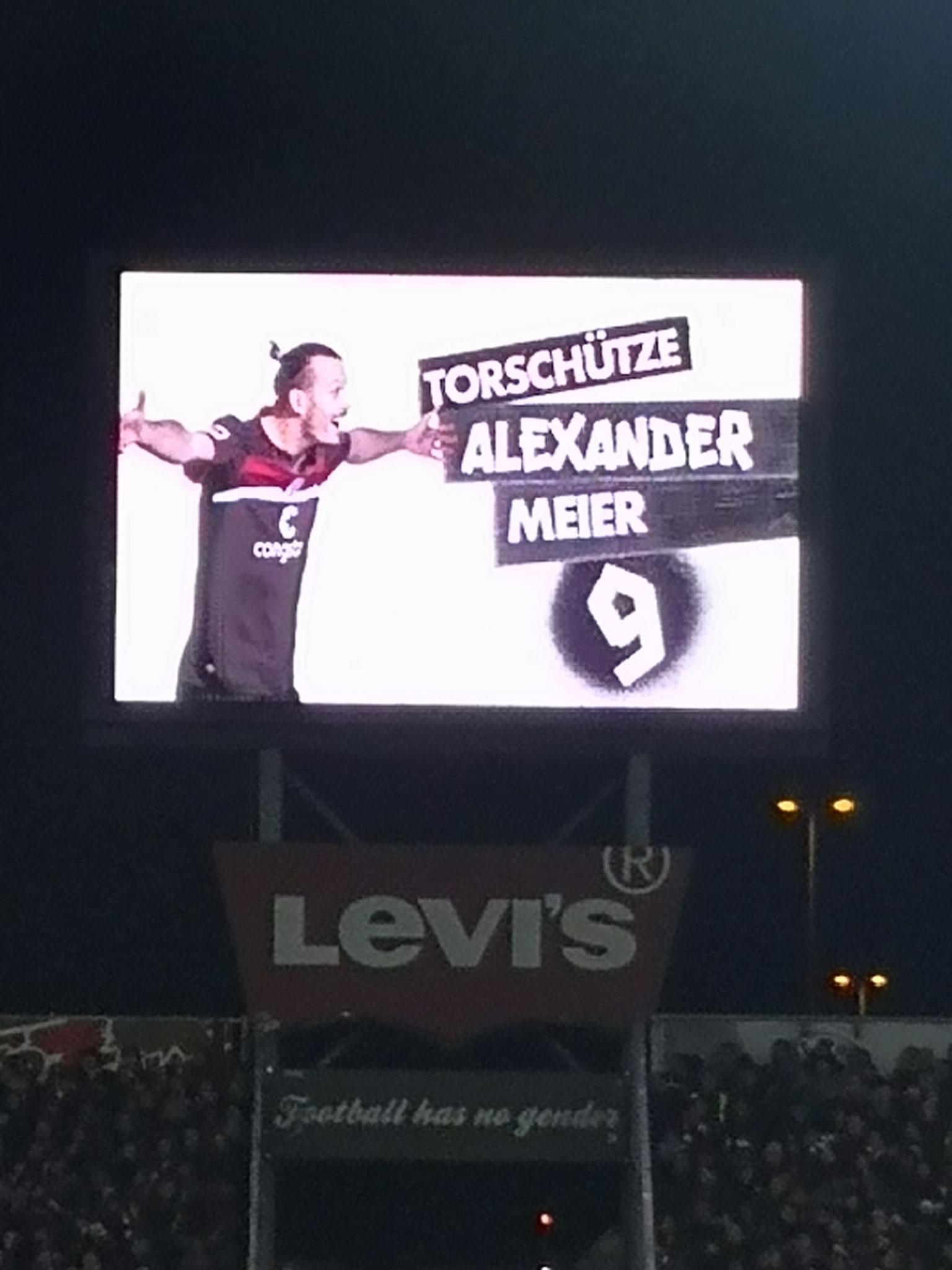 Neuer Spieler Meier für den FC St. Pauli