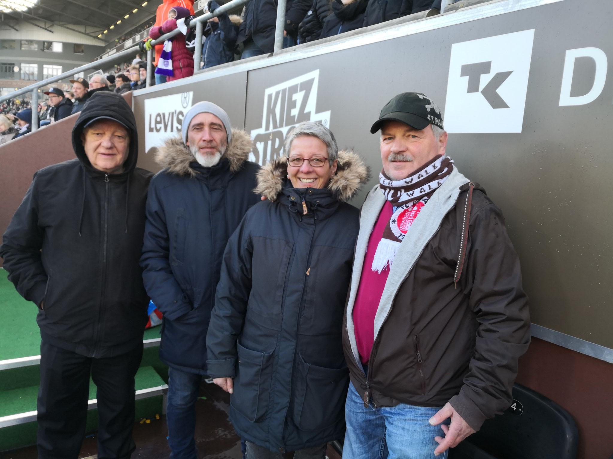 Jürgen G., Eduard, Marion und Thomas