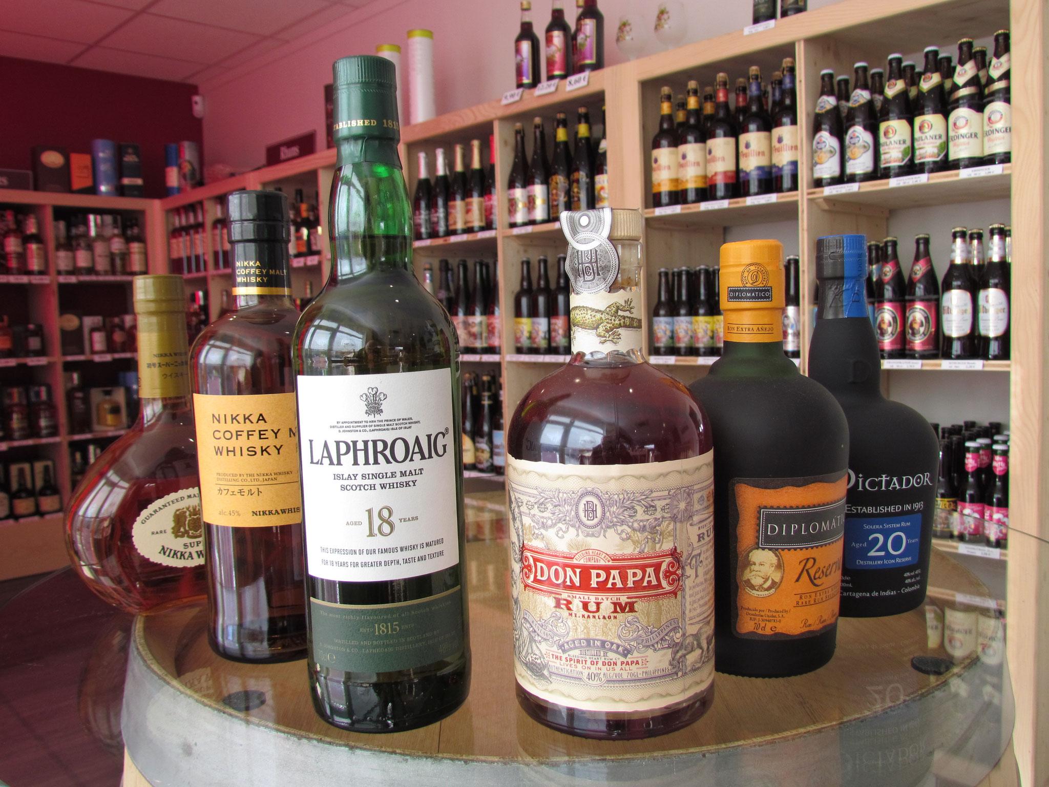 Voyage aux pays des Rhums et whiskies