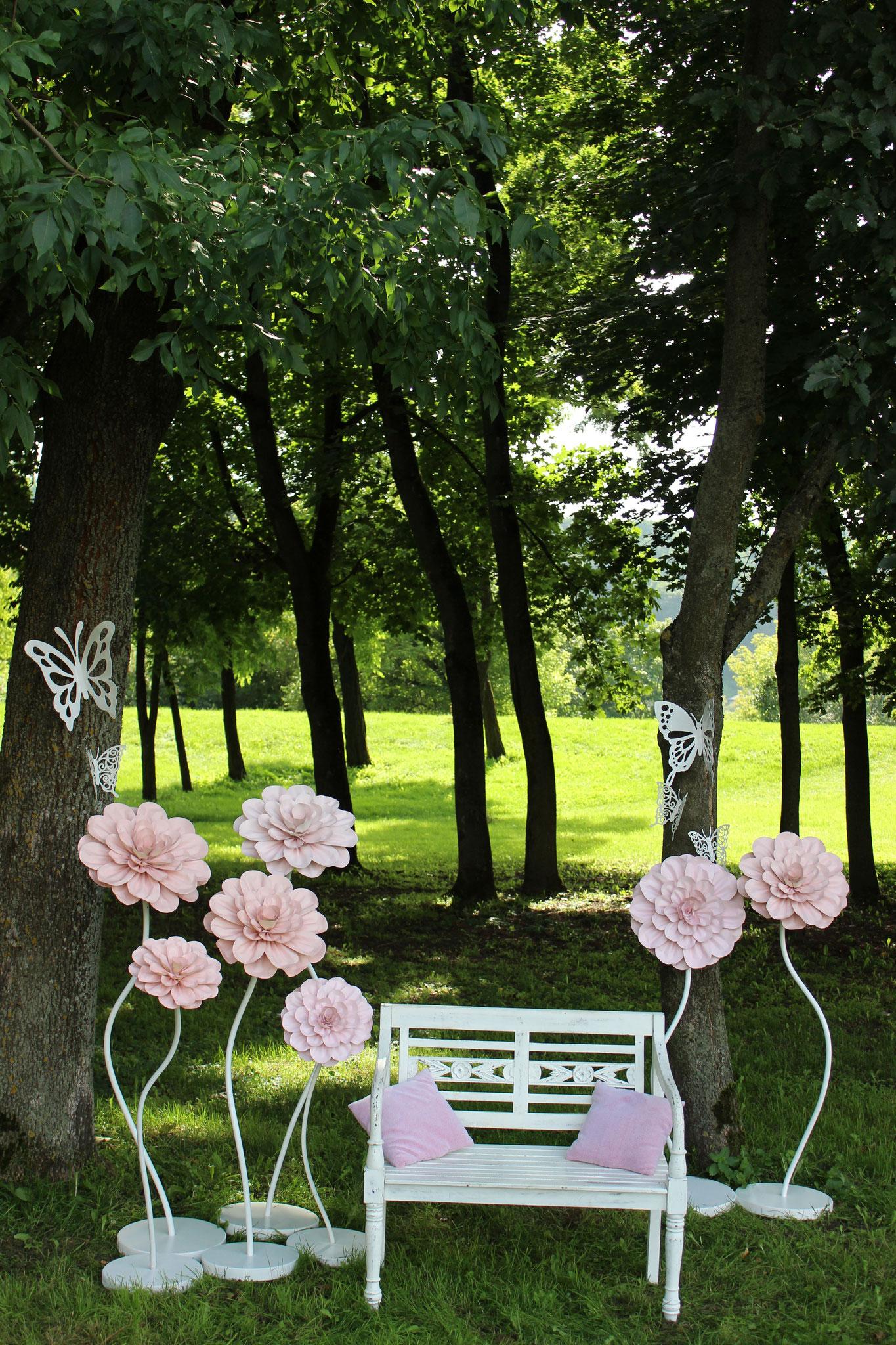 Sitzecke im Freien
