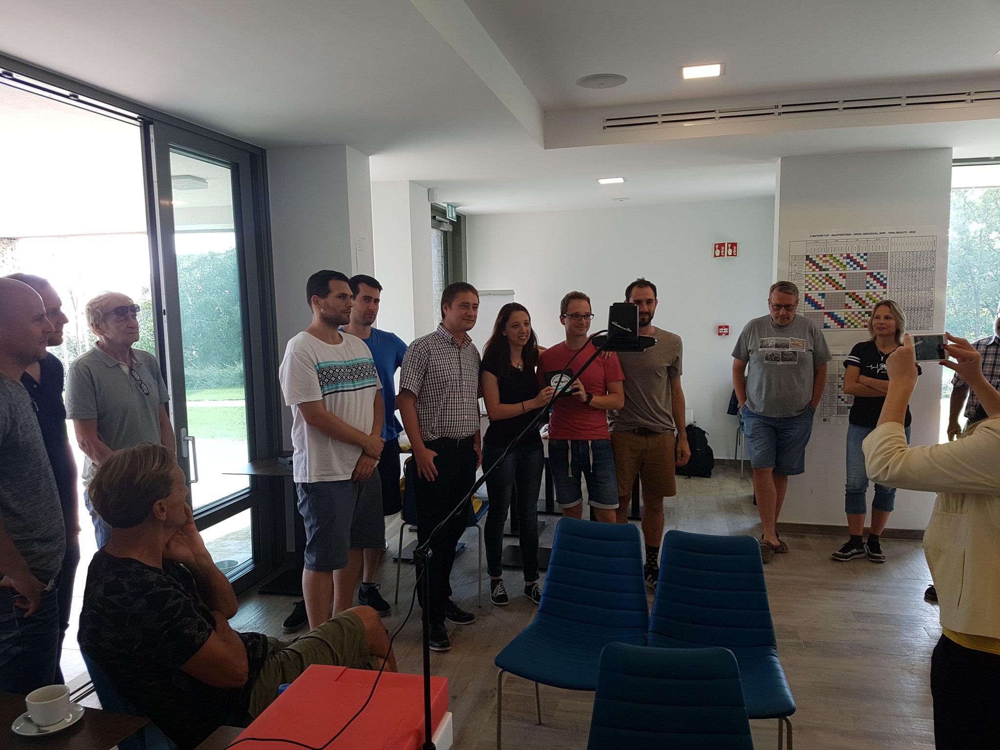 2. Platz: Team Ungarn