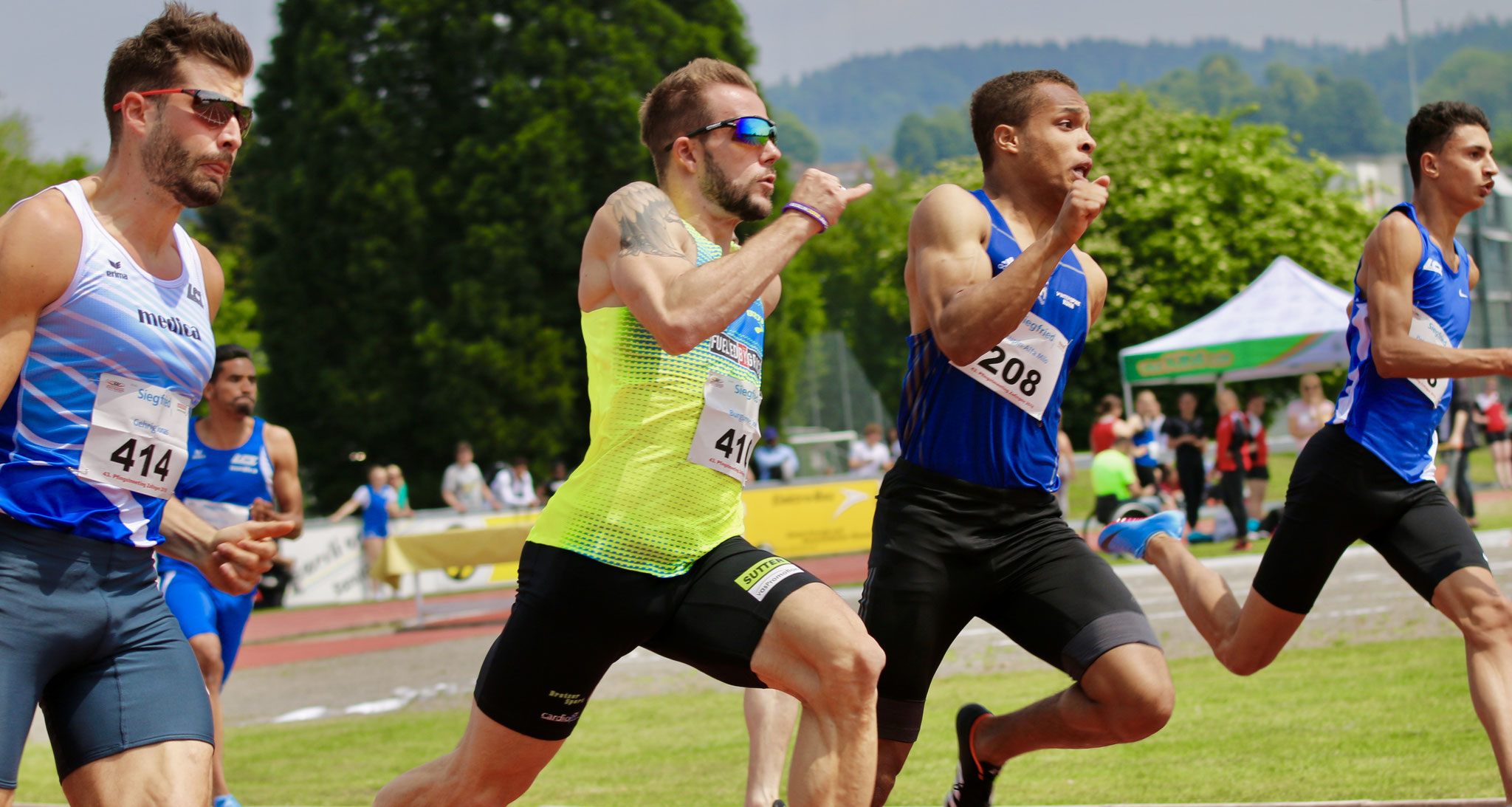 Pfingstmeeting Zofingen, 200m