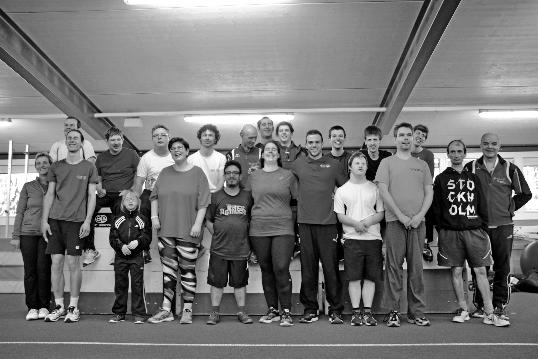 Leichtathletik Team Wohlen Special Olympics