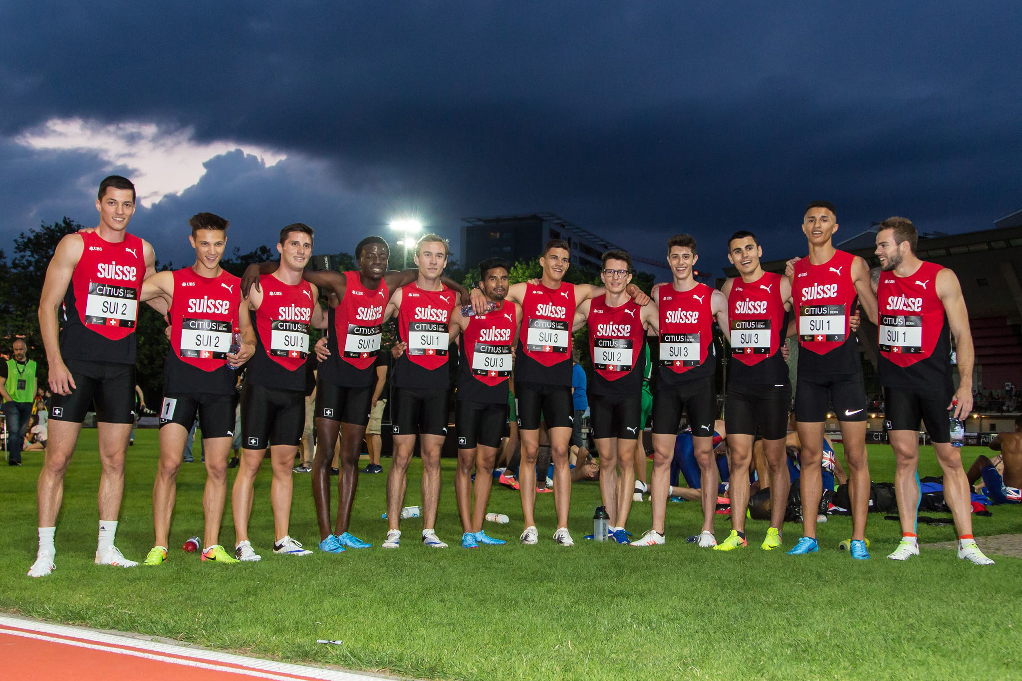 4x400m Team Switzerland Citius