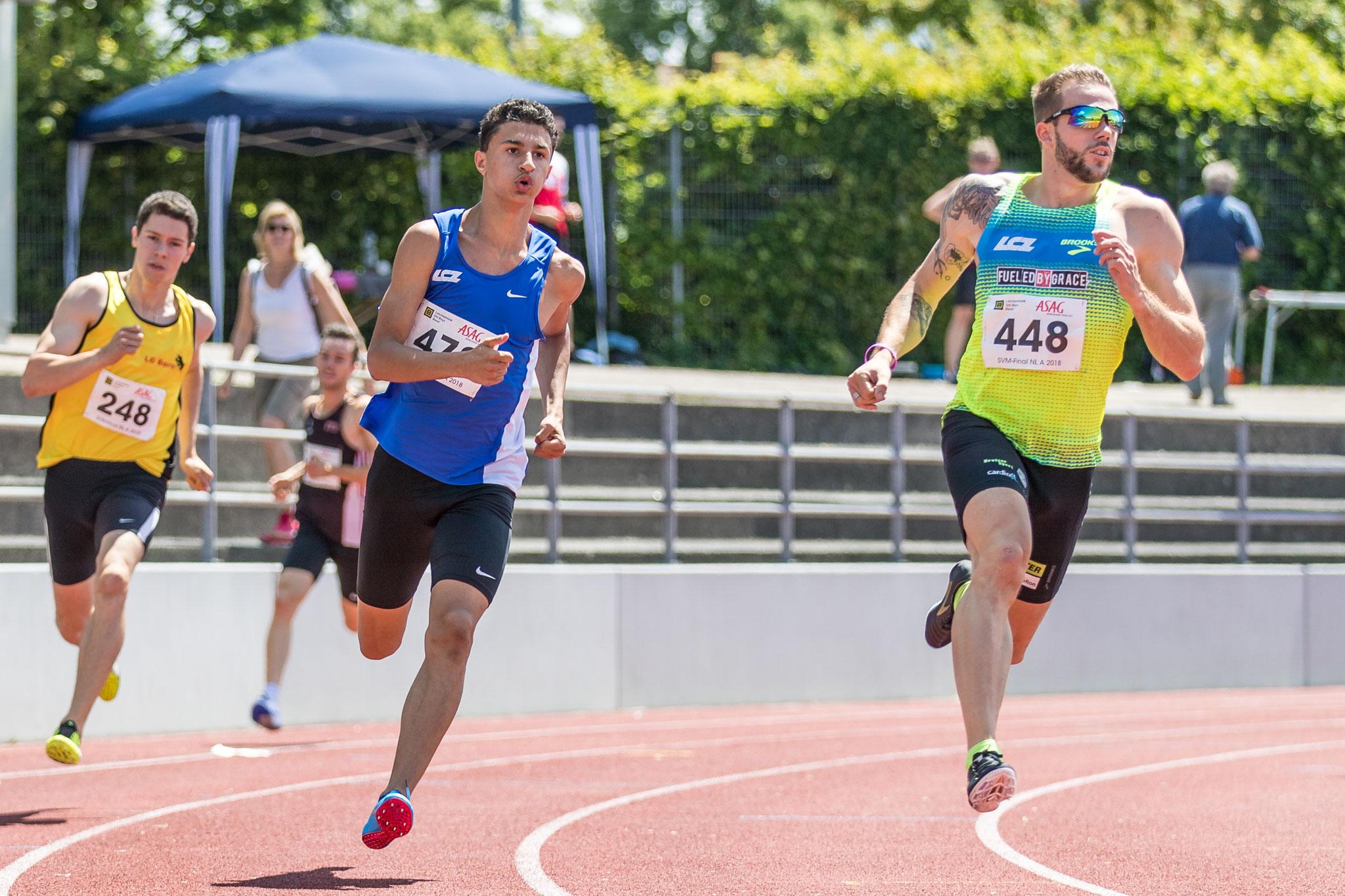 SVM Basel, 400m BILD: Ulf Schiller