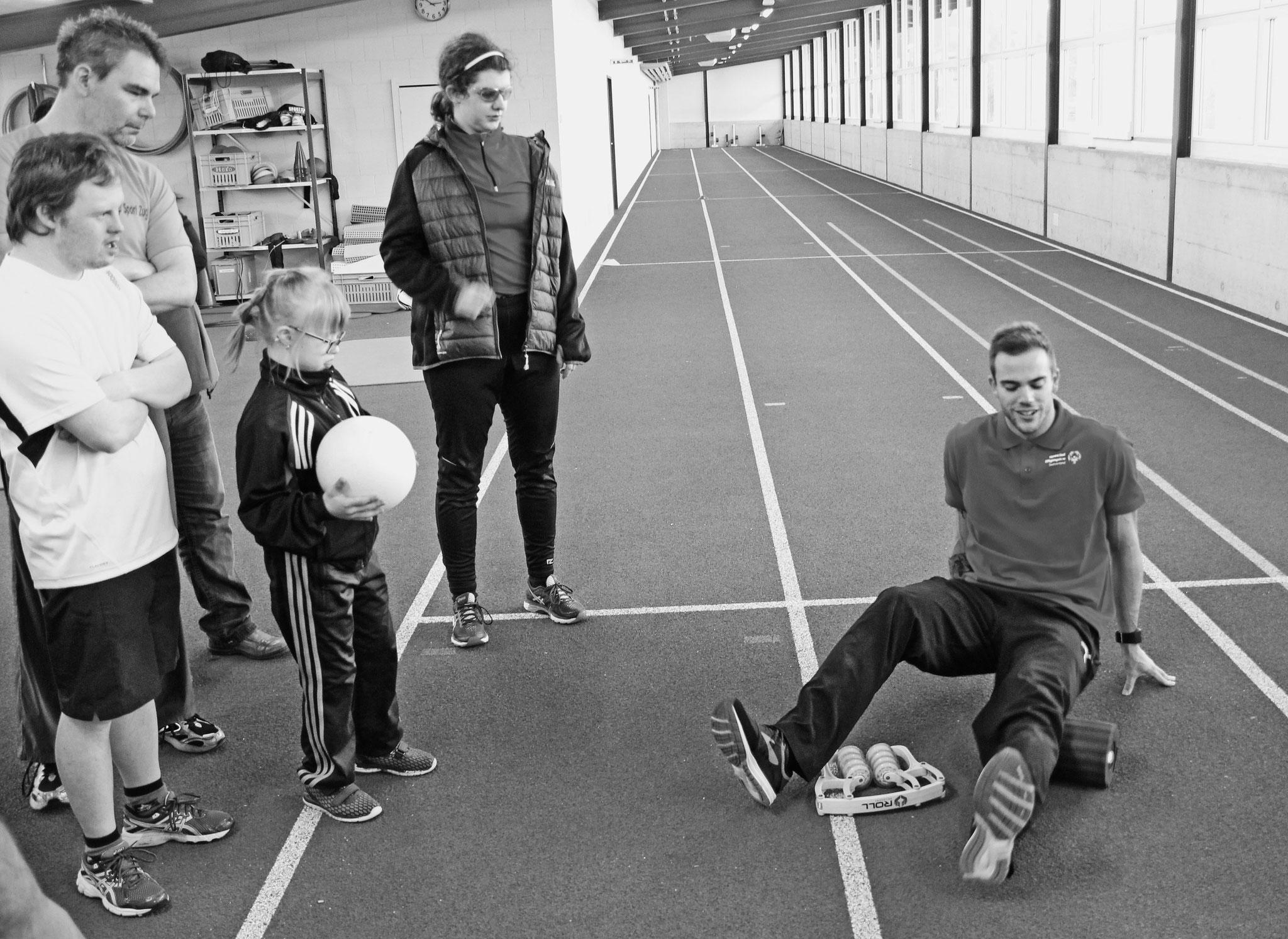 Special Olympics Ambassadoren Einsatz Wohlen