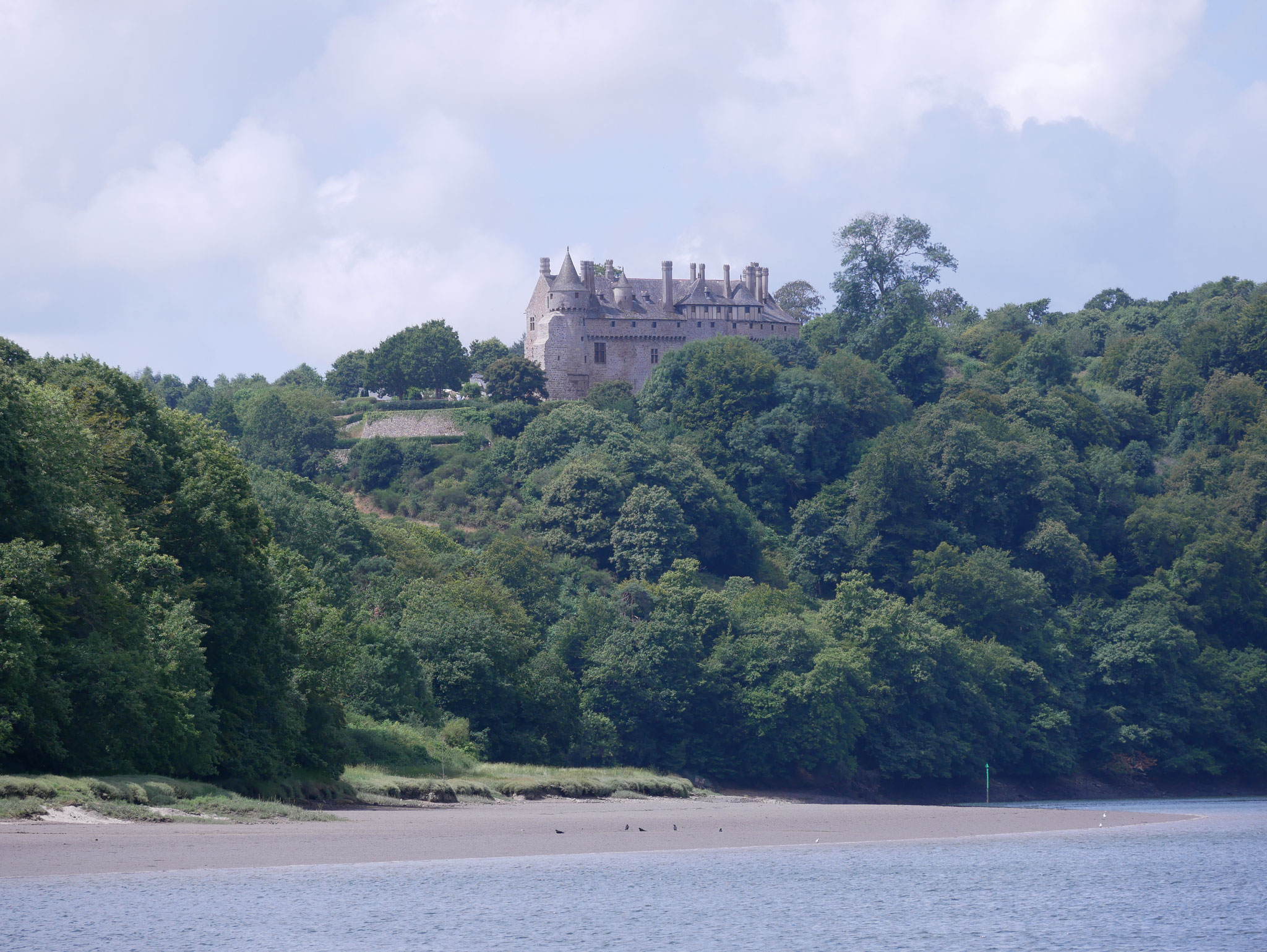 Château de la Roche-Jagu, Rivière de Trieux