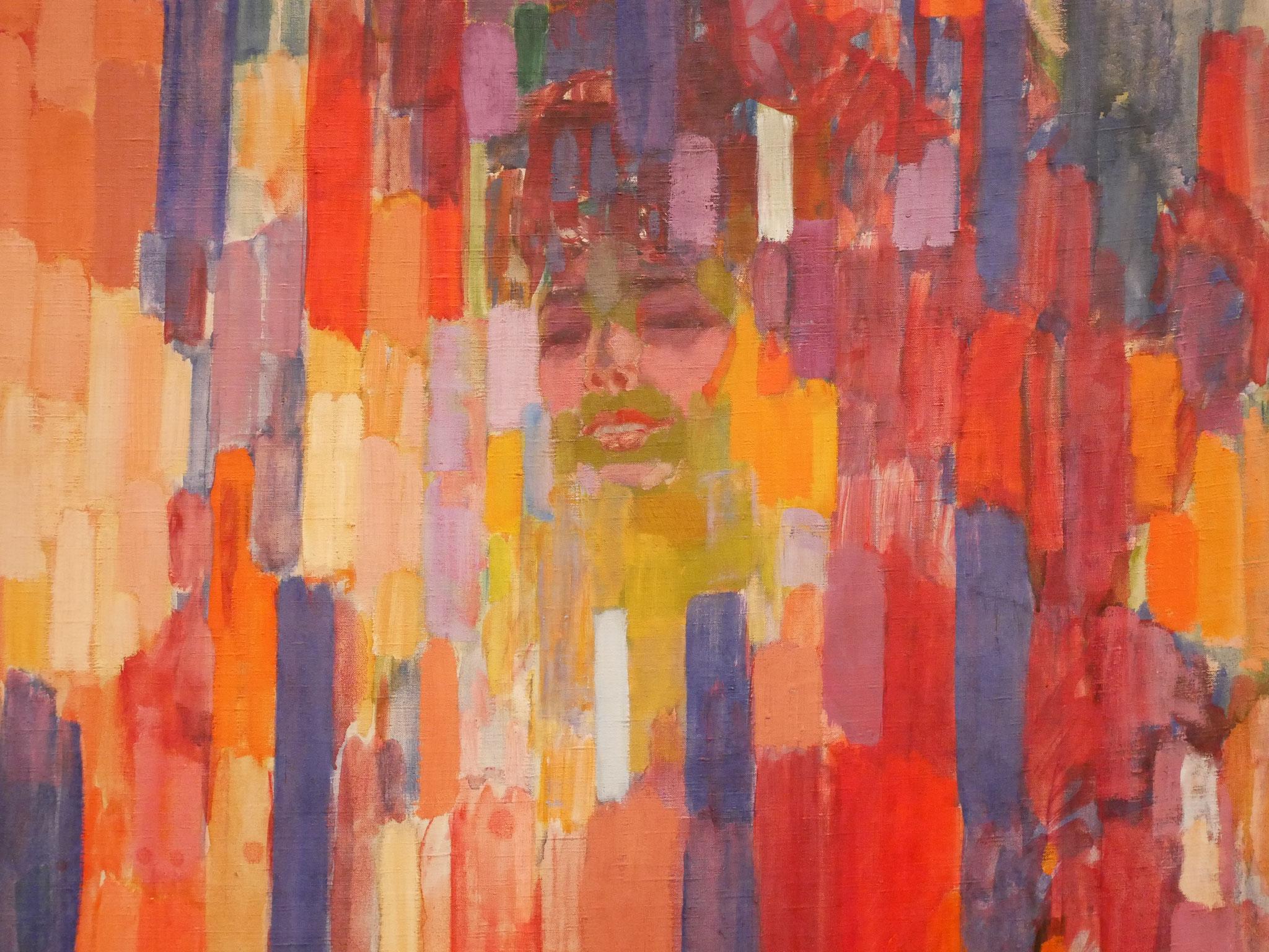 František Kupka, Mme Kupka among Verticals, 1910-11 On view