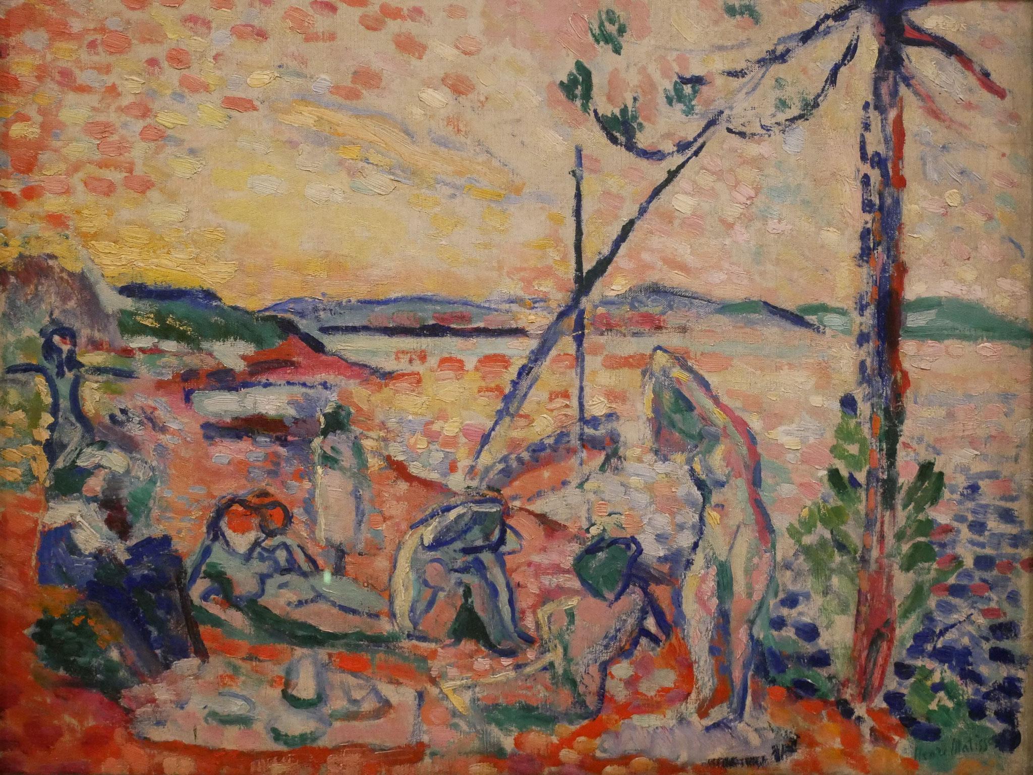 "Henri Matisse, Study for ""Luxe, calme et volupté"", 1904"