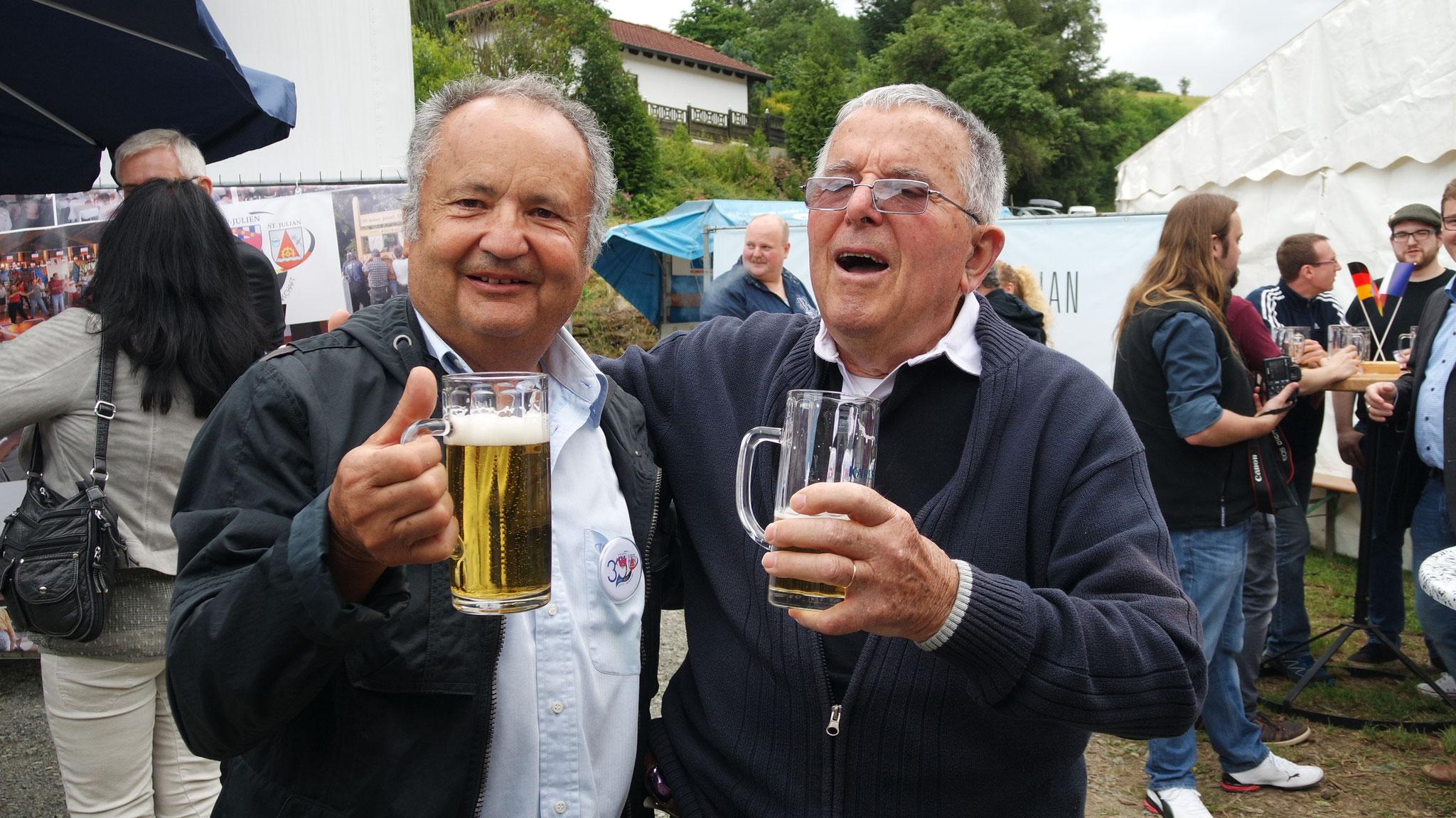 Joachim et son copain Tonio aussi ...
