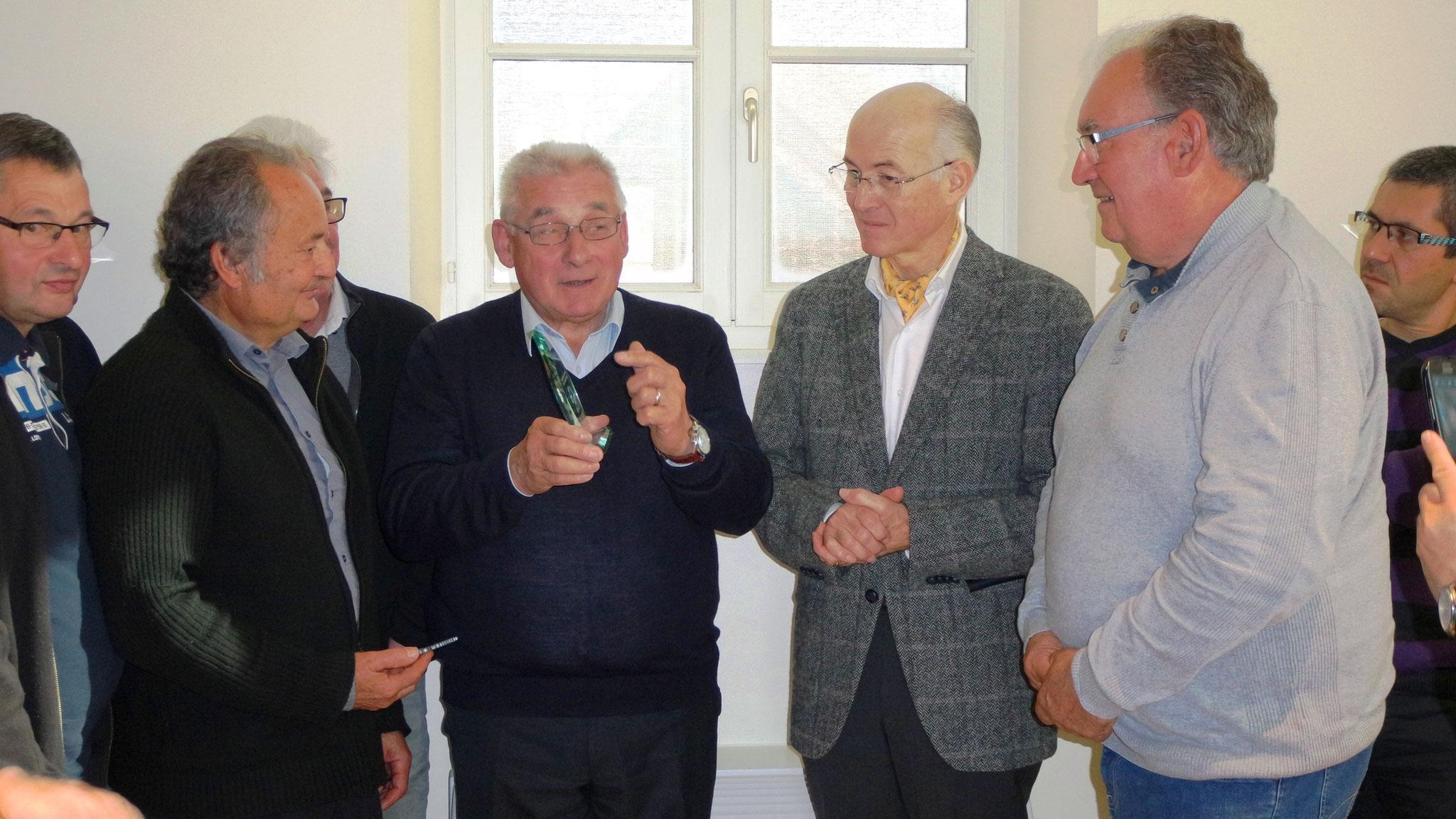 Michel Lenoir et M. Chapuis